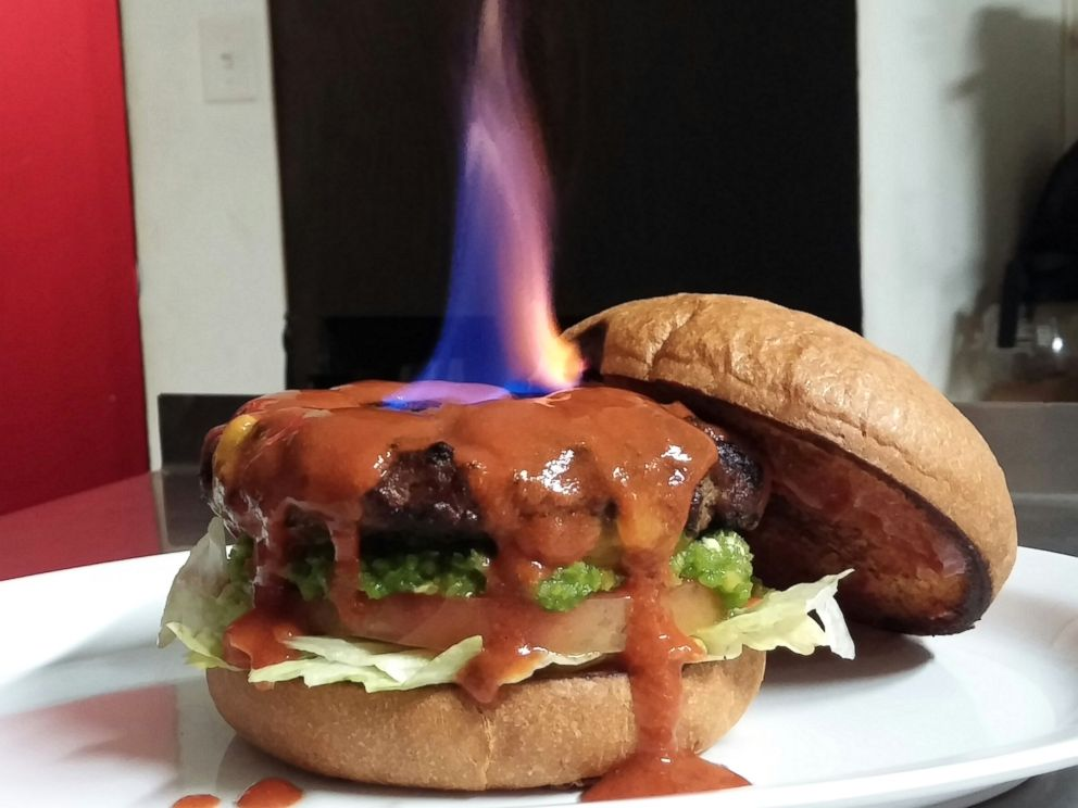 The Hellfire Burger is one of the hottest foods on earth