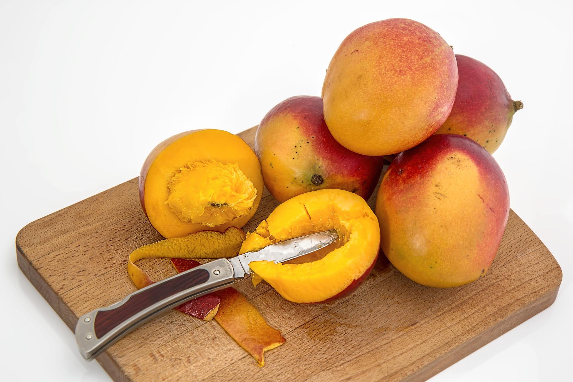 Mango can cause a rare food allergy