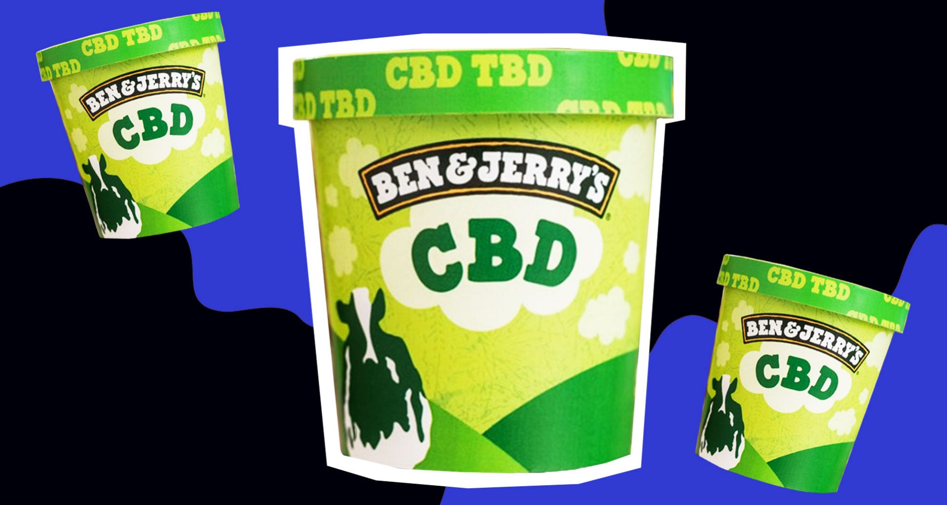 This is what Ben & Jerry's CBD-infused ice cream could look like.