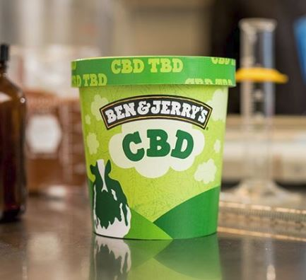 This is what CBD-infused Ben & Jerry's could look like.
