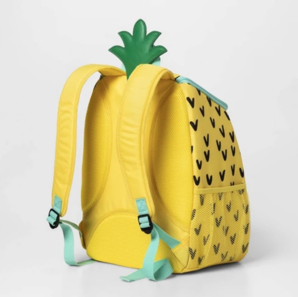 Pineapple backpack from Target.