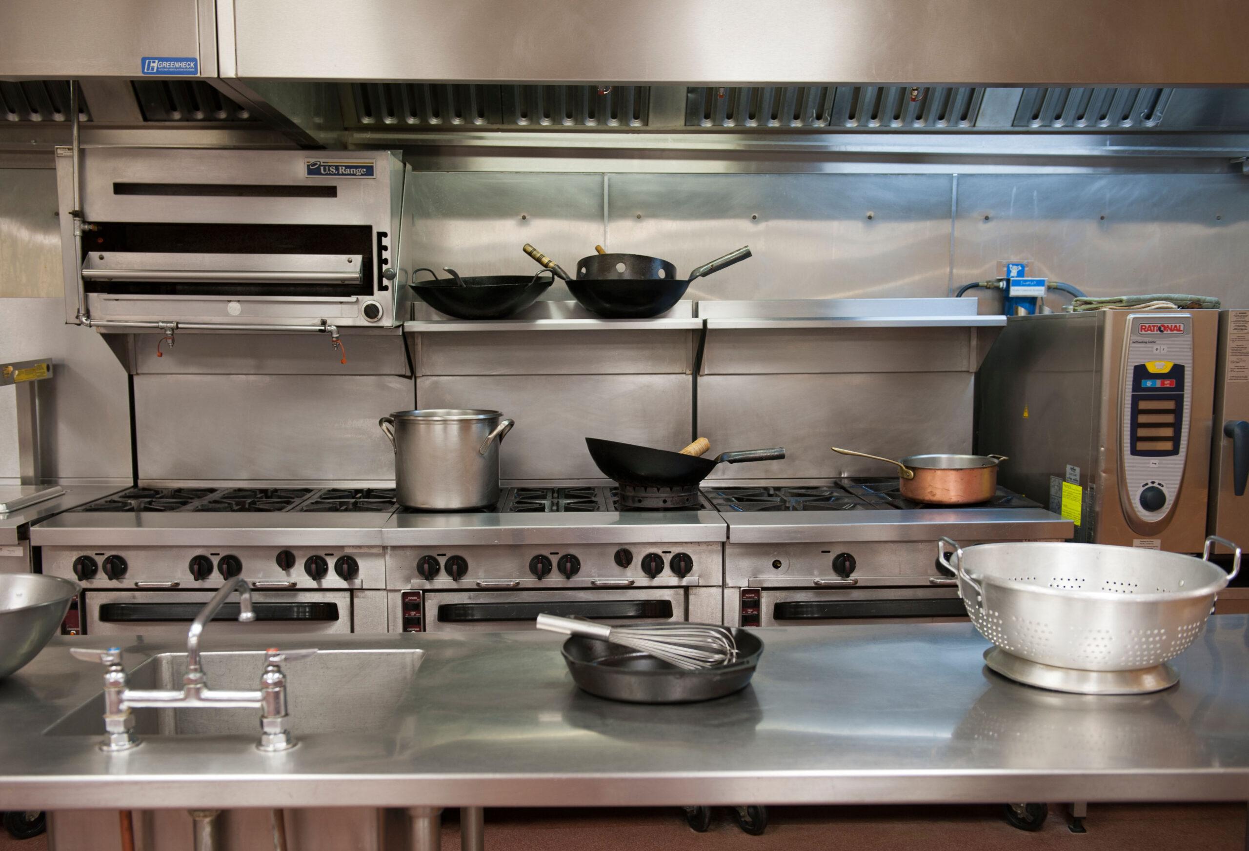 Professional kitchen restaurant food
