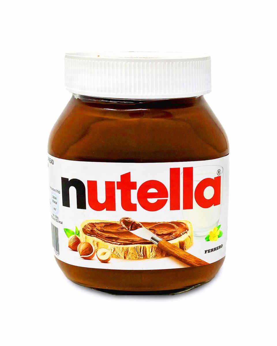 A jar of Nutella.