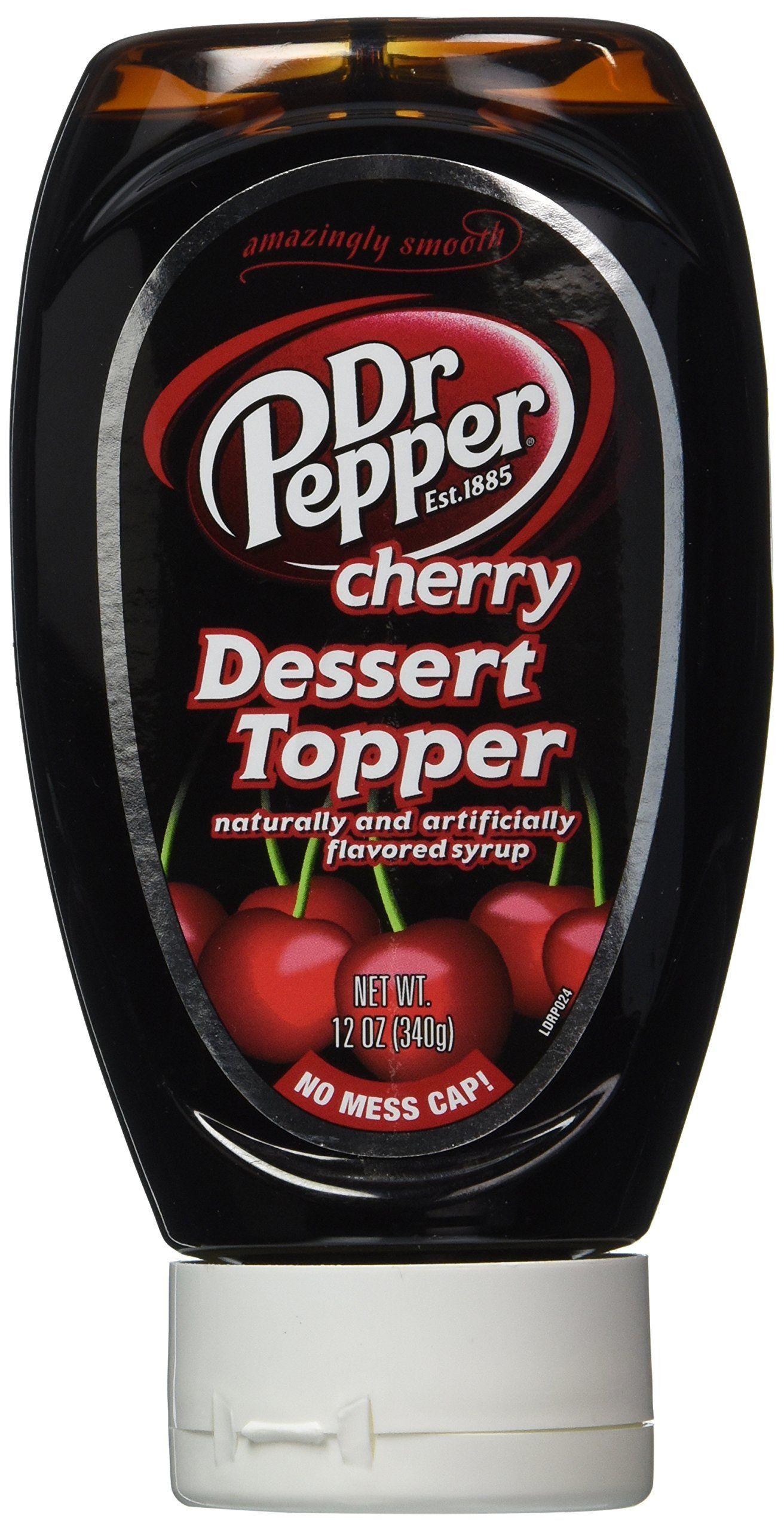 Dr Pepper dessert topper