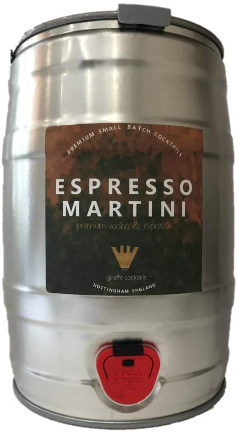espresso martini keg