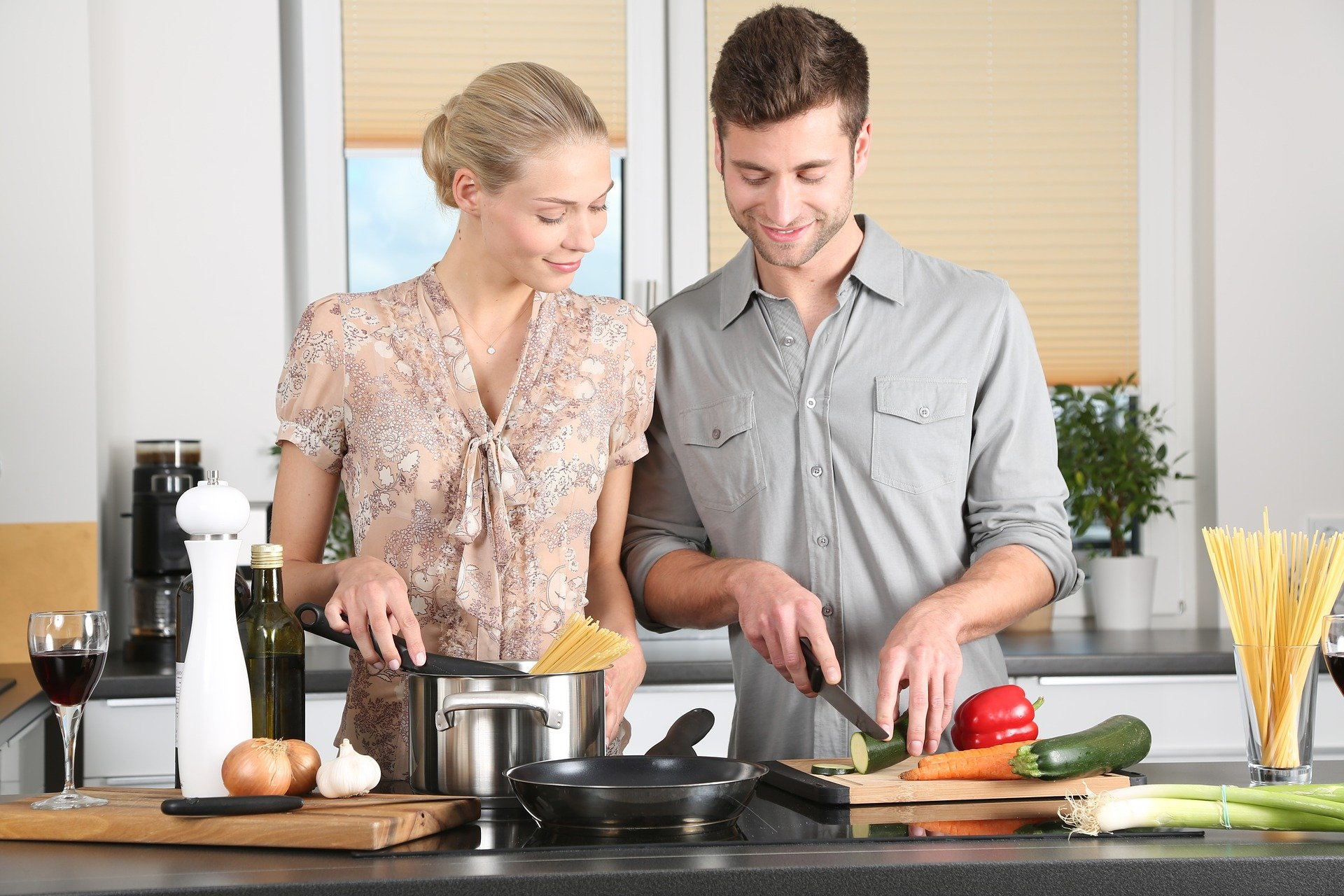 Online cooking classes have become hugely popular in lockdown