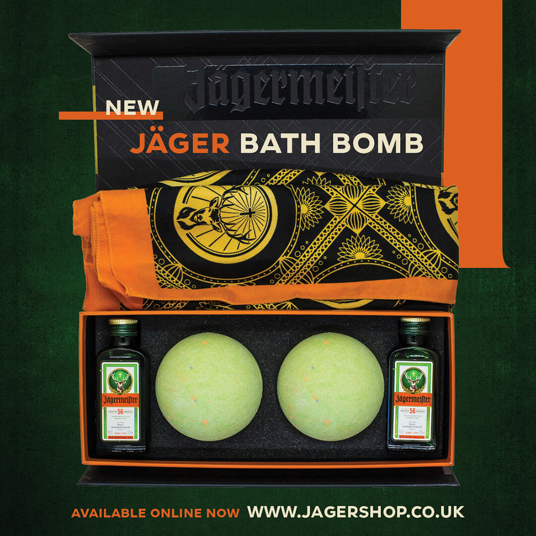 Jaeger bath bomb