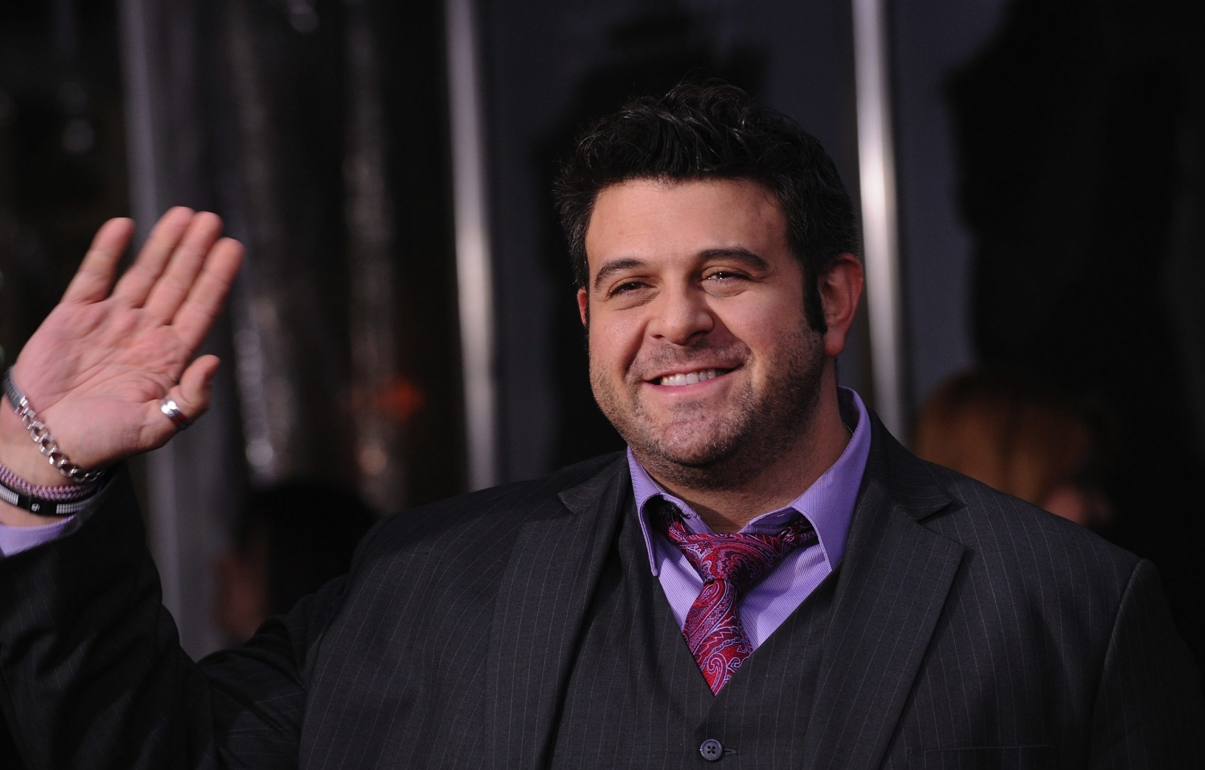 Adam Richman attending the New York Premiere of 'The Girl With the Dragon Tattoo' held at the Ziegfeld Theatre in New York City on December 14, 2011.