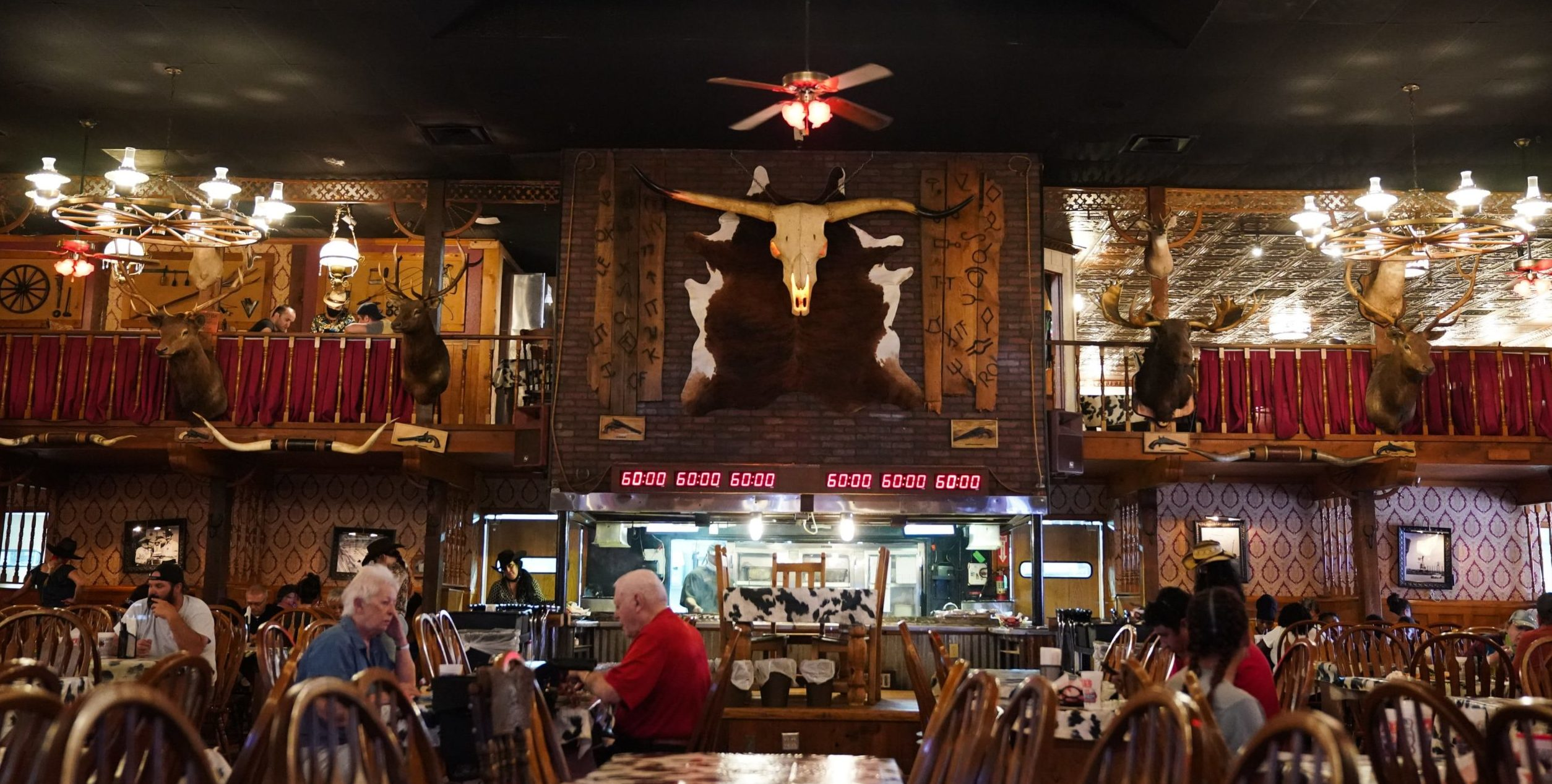 The Big Texan is one of many Man v. Food restaurants you can still visit