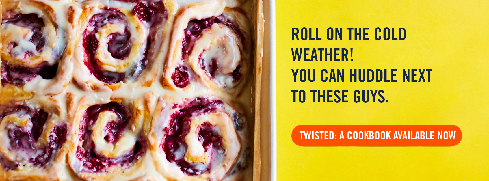 Twisted: A Cookbook is the perfect Christmas gif