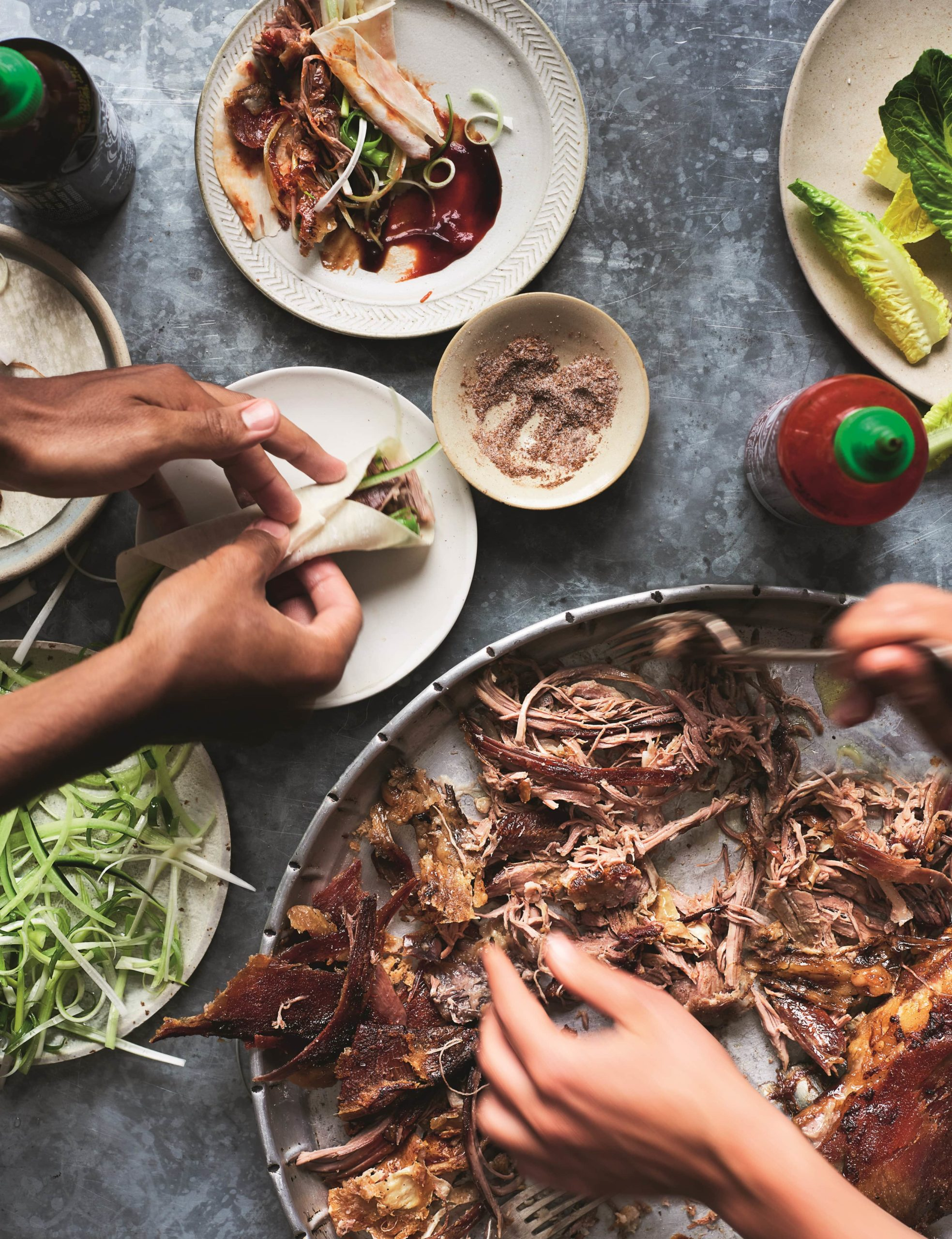 Gizzi Erskine roasted lamb belly recipe from Restore: A Modern Guide To Sustainable Eating