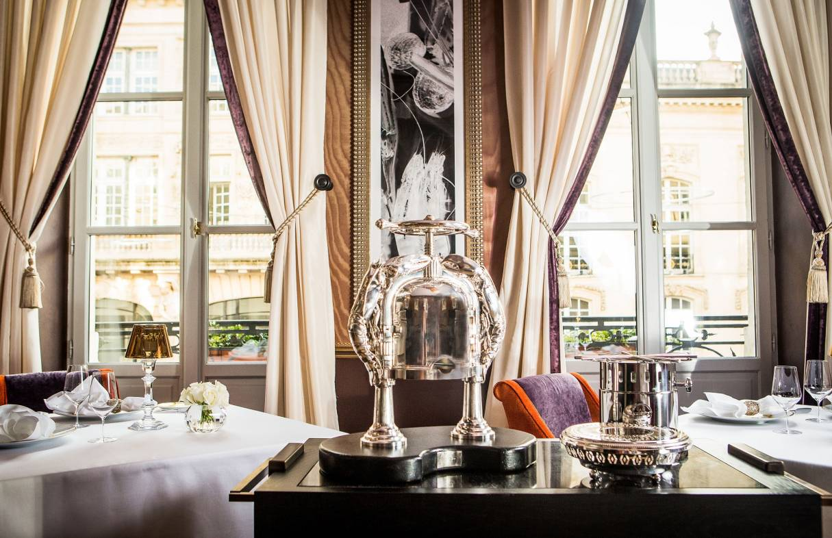 Le Pressoir D'Argent holds two Michelin stars (Credit: Gordon Ramsay Restaurants)