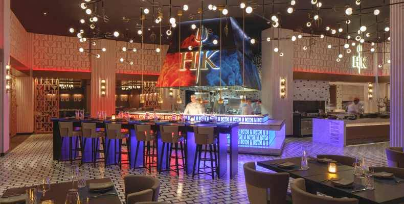 Hell's Kitchen in Dubai is a celebrity hot spot (Credit: Gordon Ramsay Restaurants)