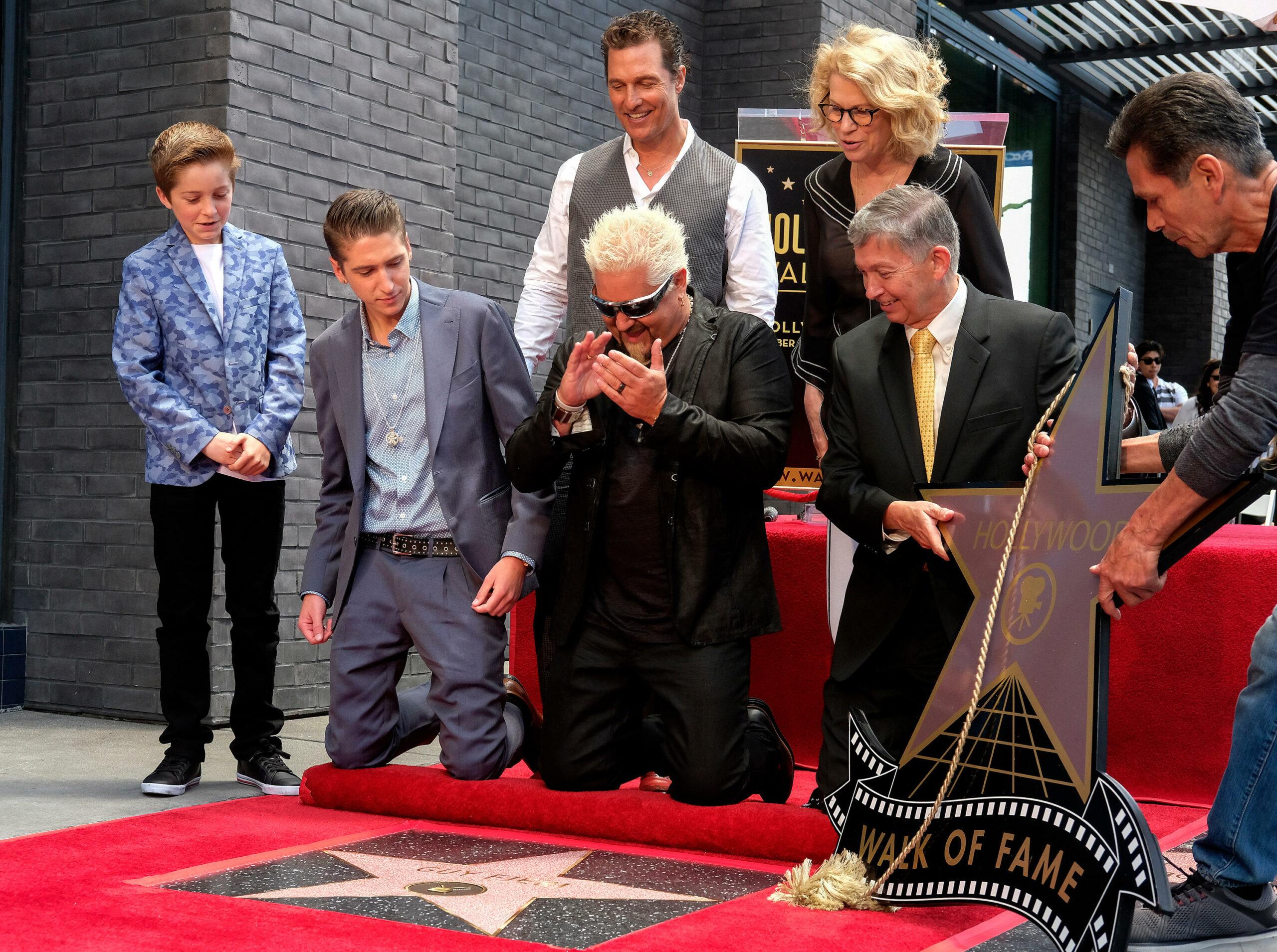 Guy Fieri Hollywood Walk of Fame