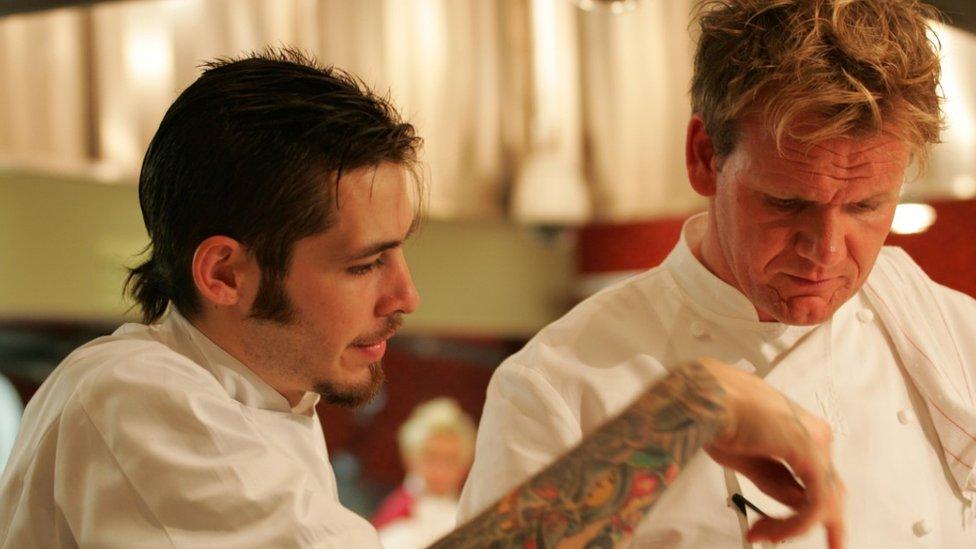 Michael Wray Hell's Kitchen winner (Credit: Fox)