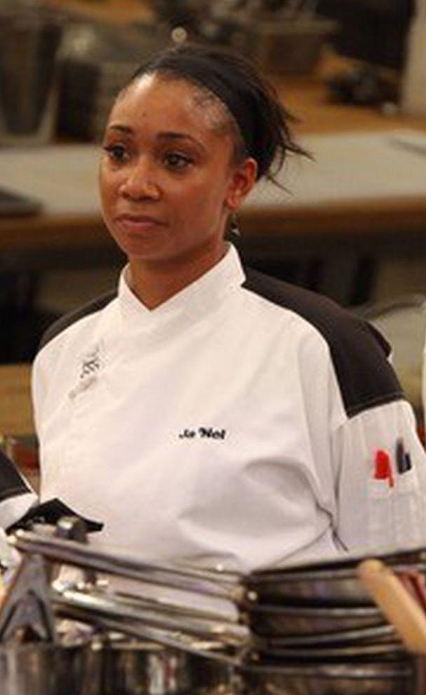 Ja'Nel Witt Hell's Kitchen winner (Credit: Fox)