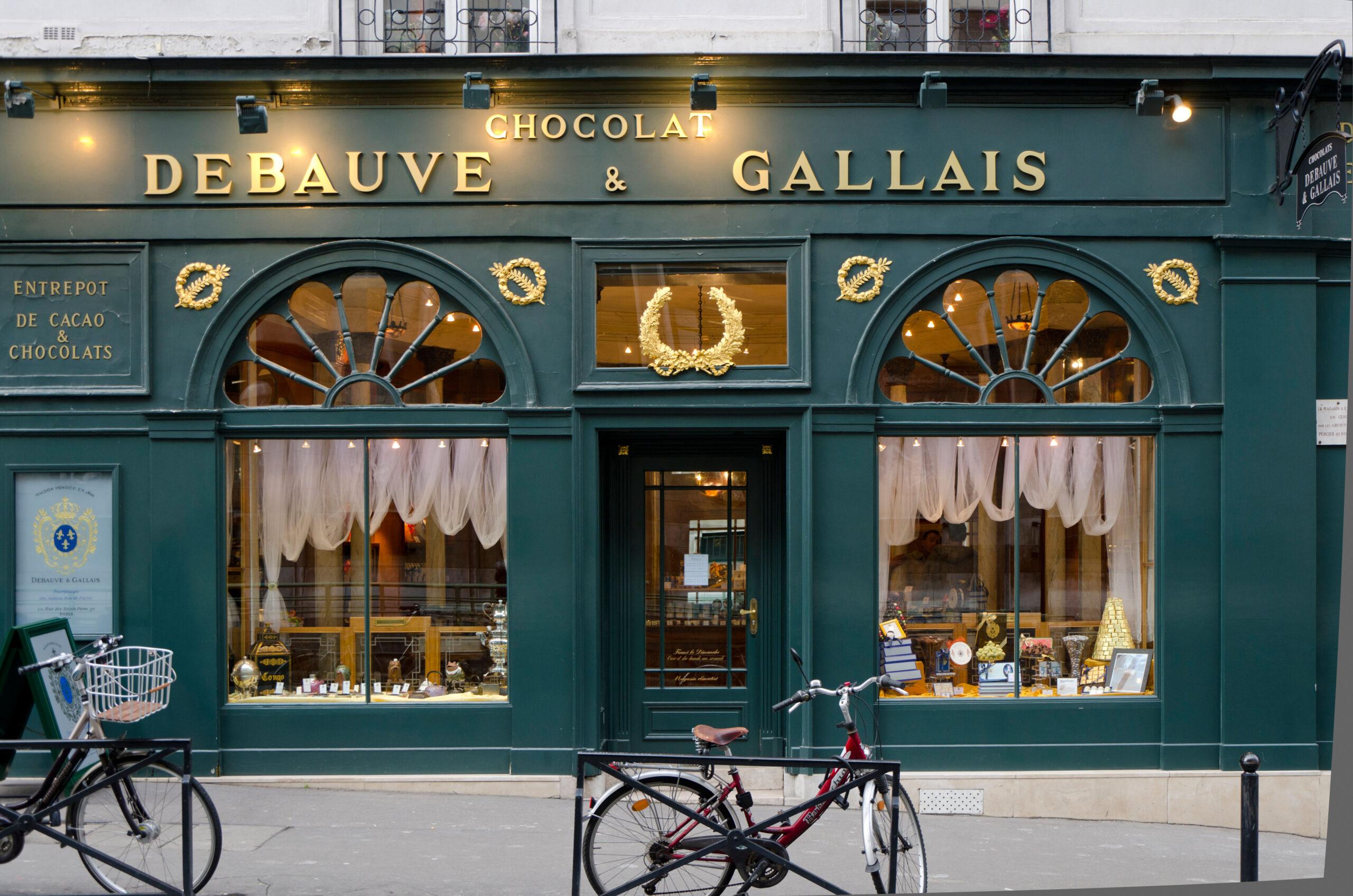 Debauve and Gallais chocolatiers
