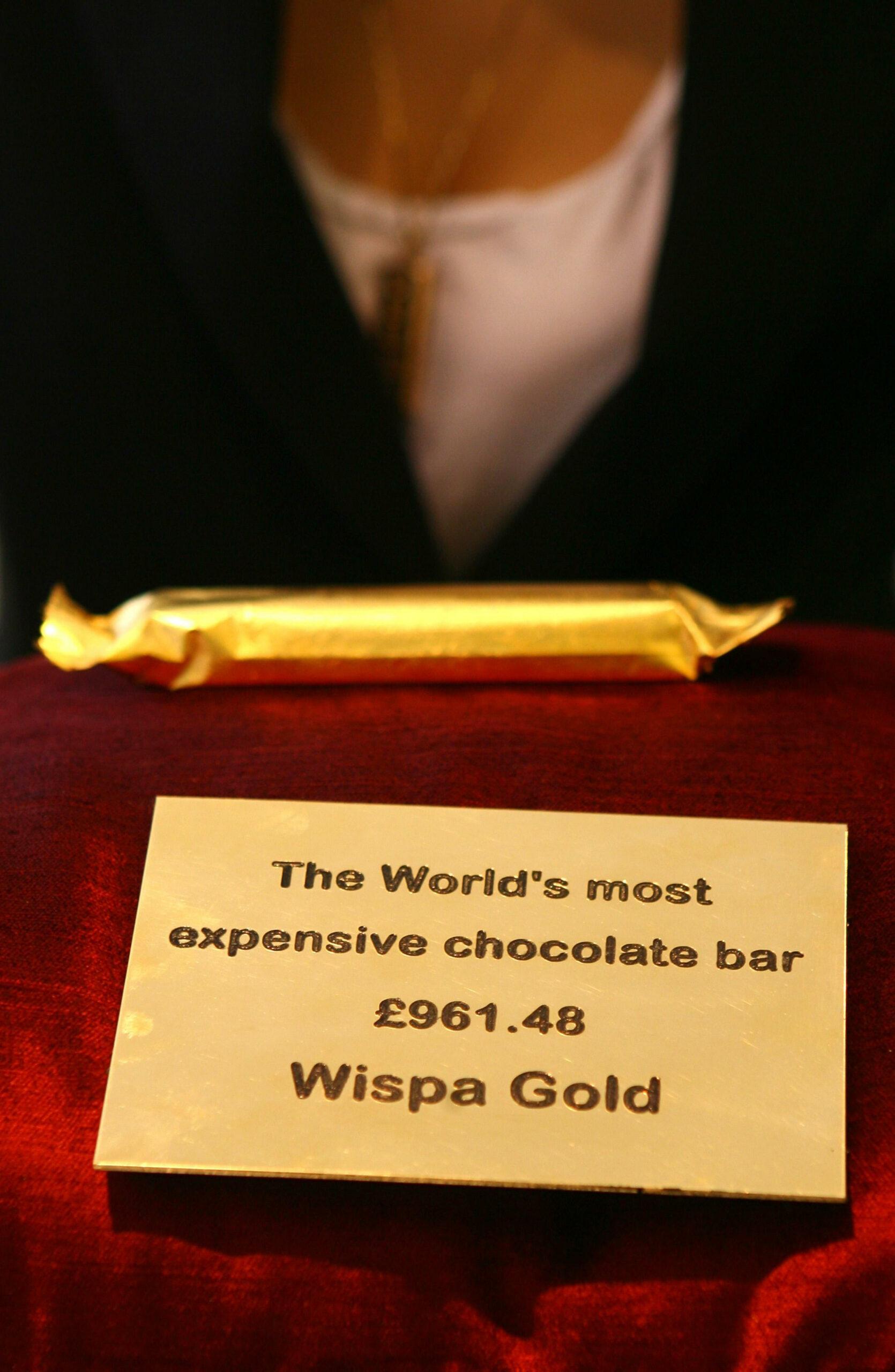 Wispa Gold chocolate bar