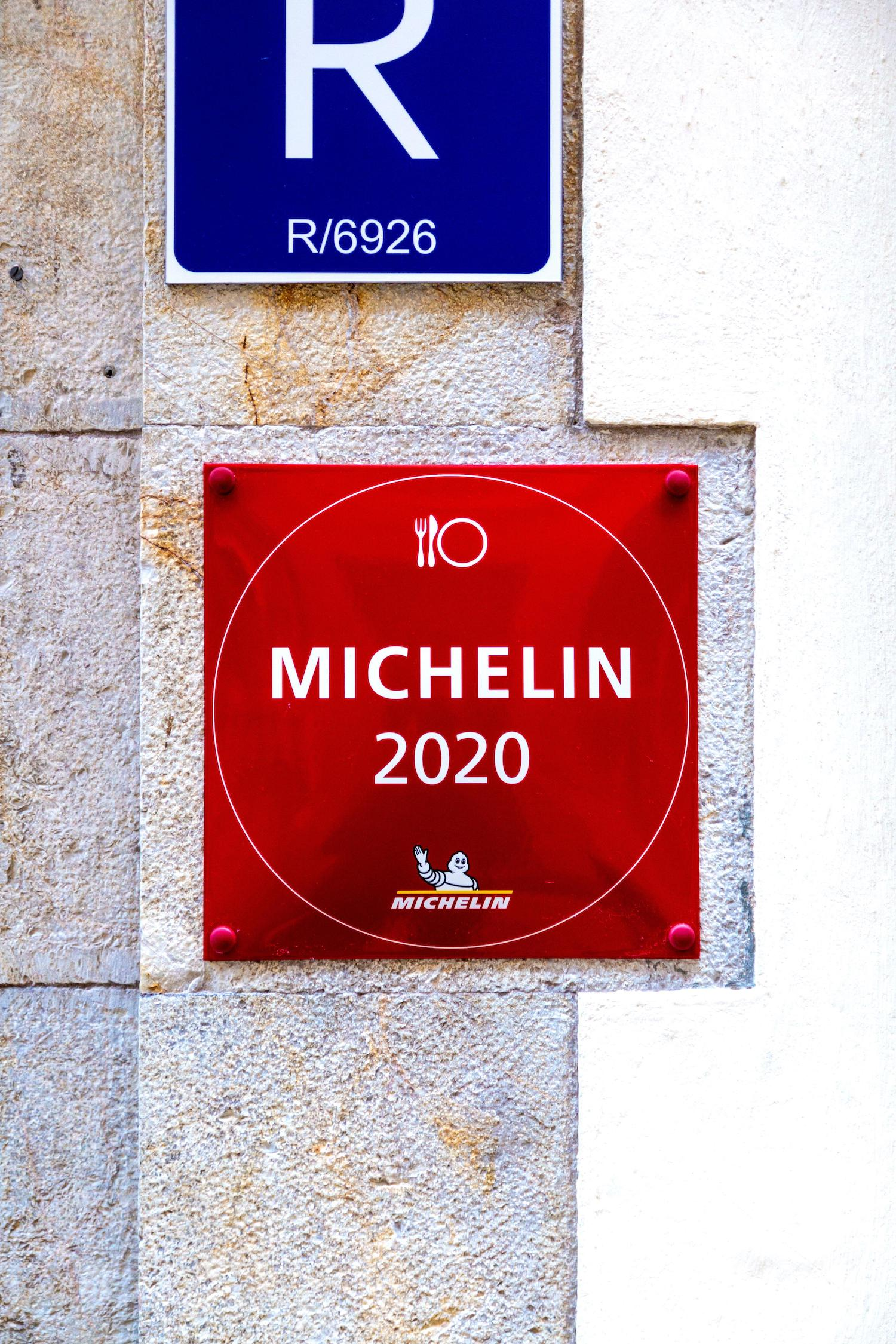 Michelin guide star