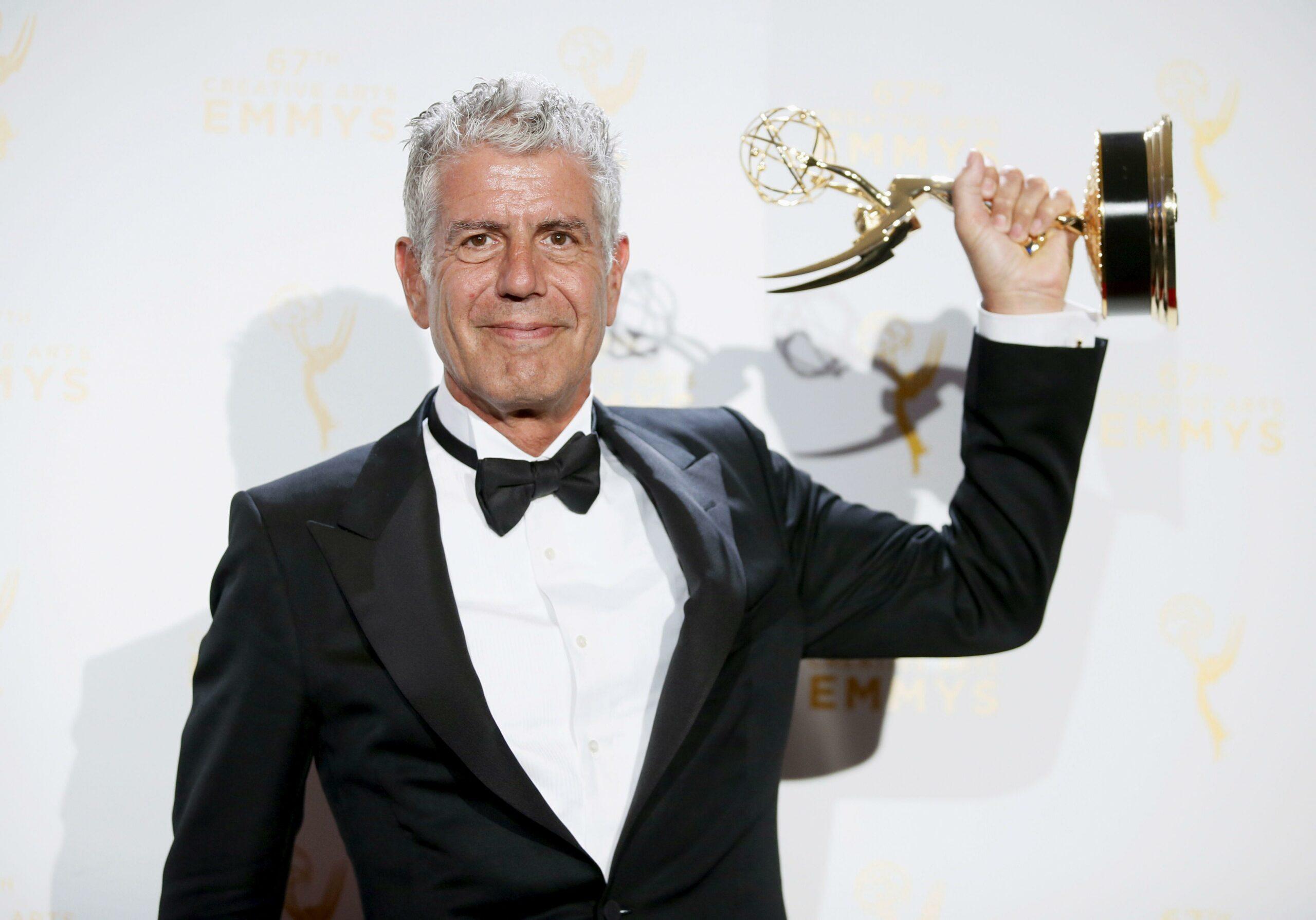 Bourdain Emmy award
