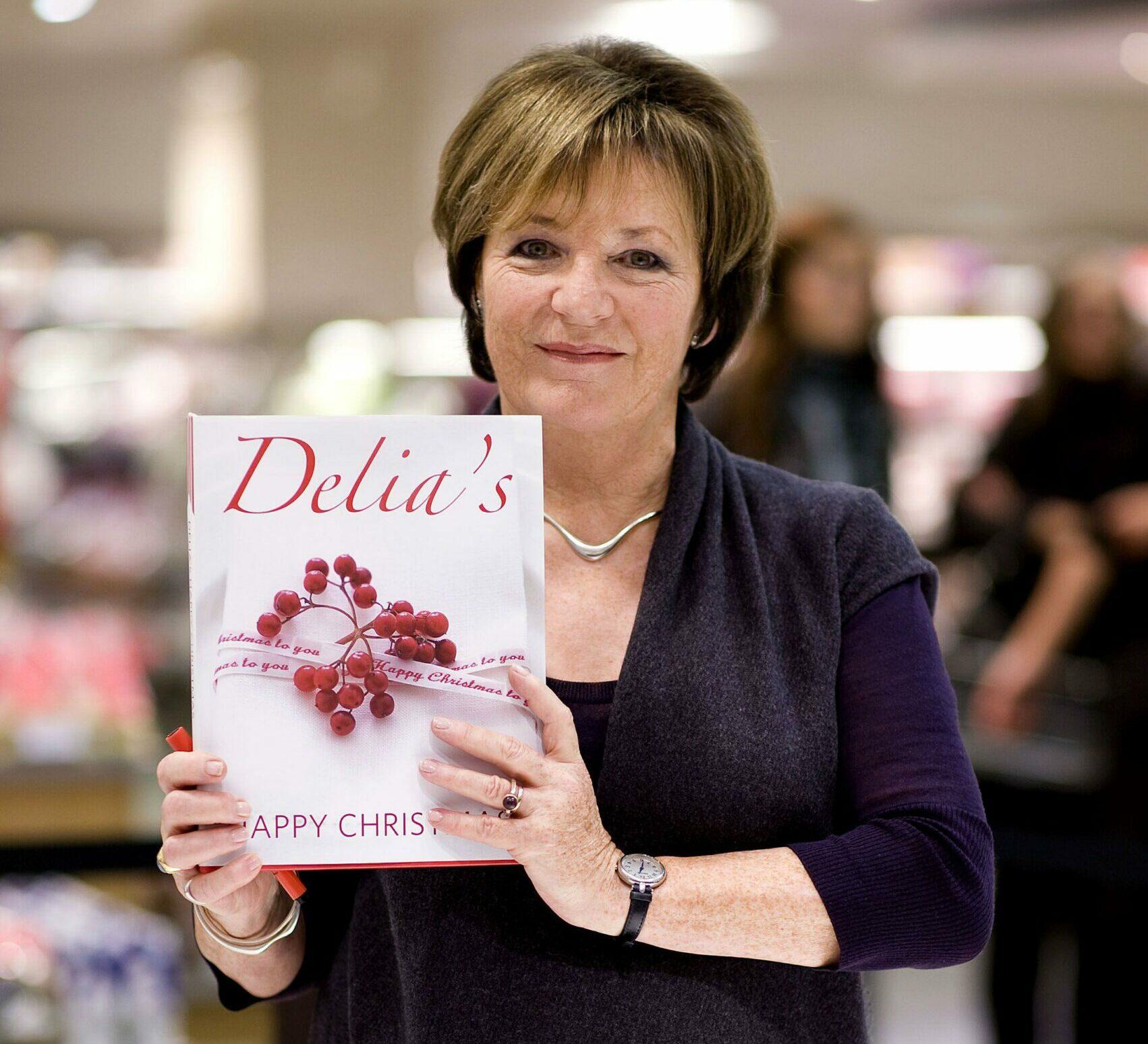 Delia Smith cooking