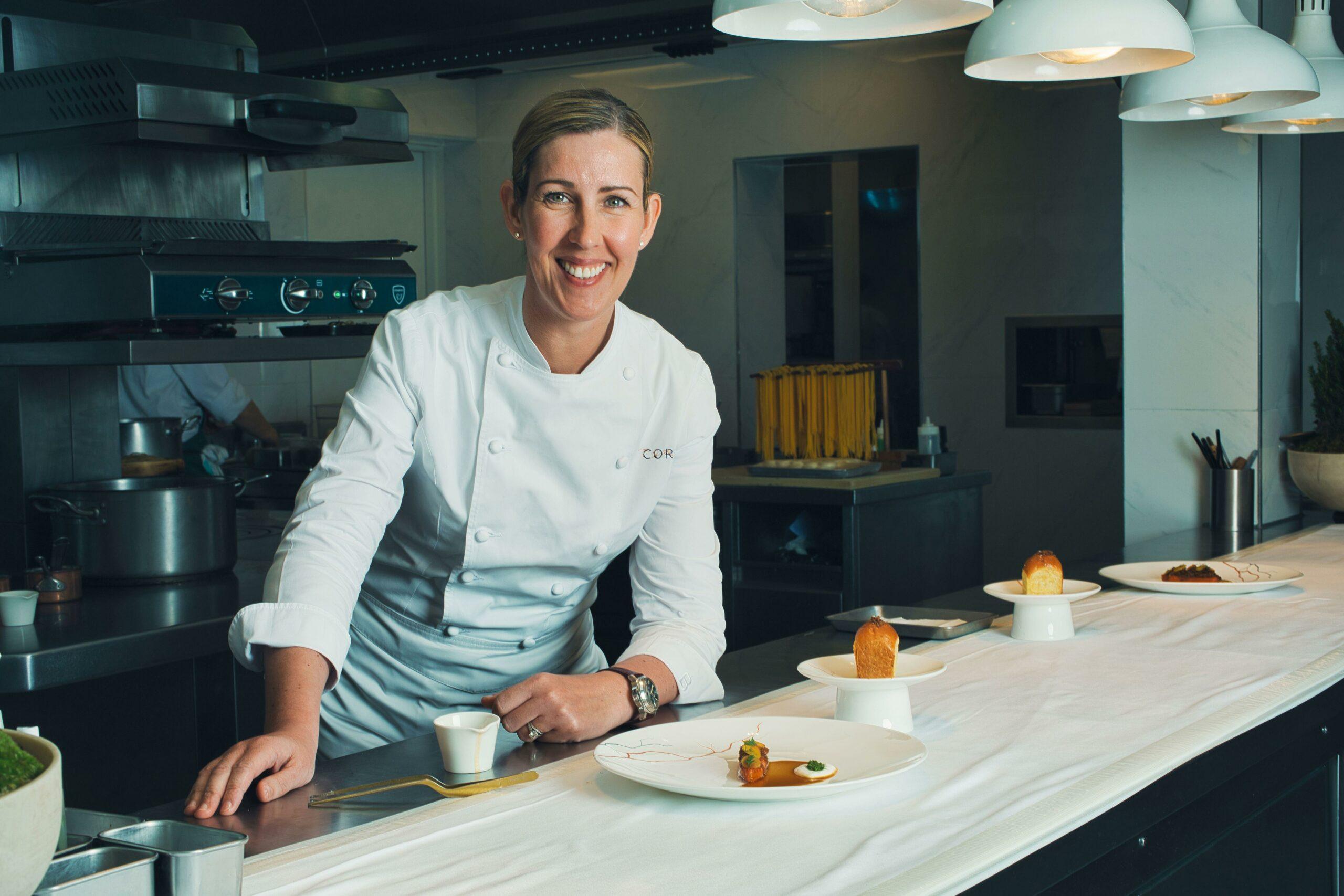 Clare Smyth female chefs