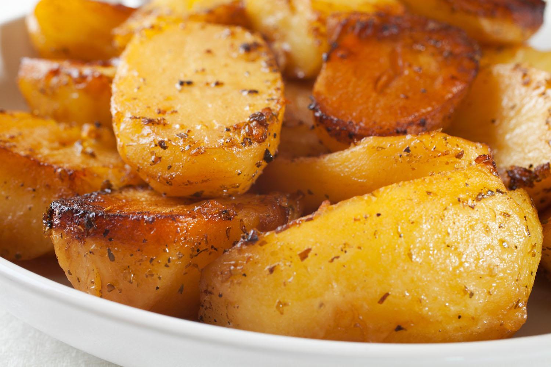 how to make roast potatoes crispy