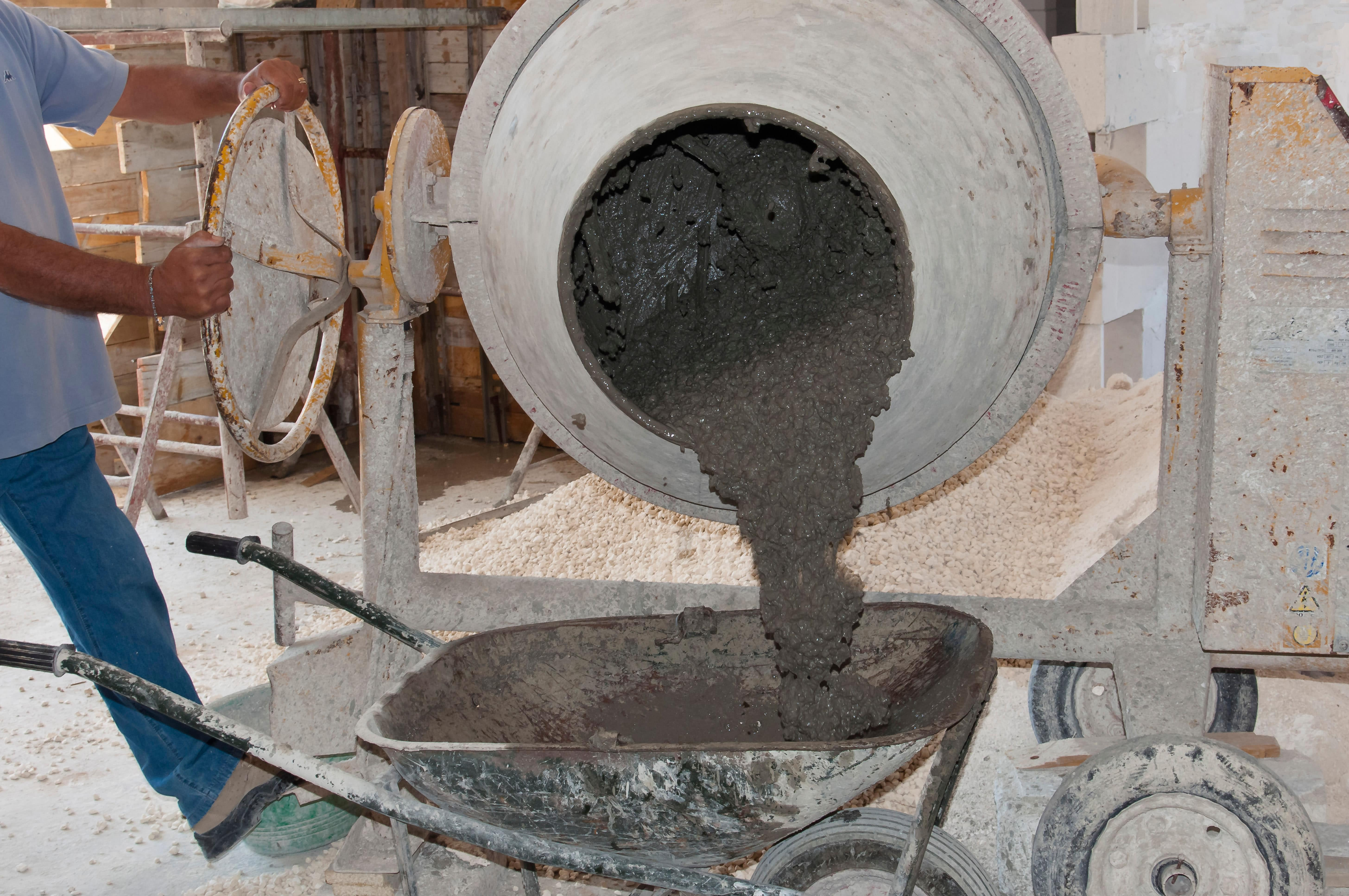 Cement mixer worst shot to drink