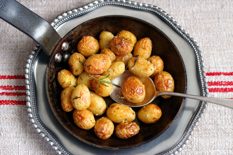how to make roast potatoes crispy (Credit: Pexels)