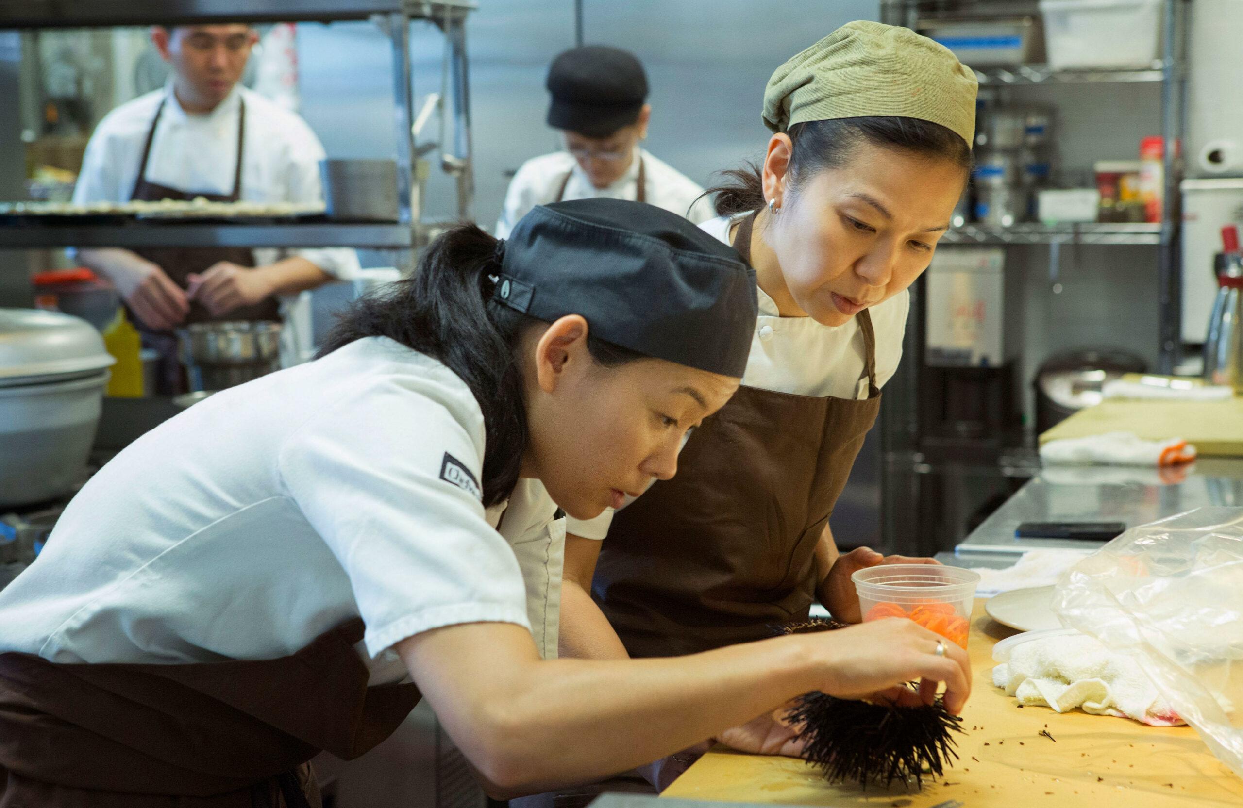 Niki Nakayama famous female chefs