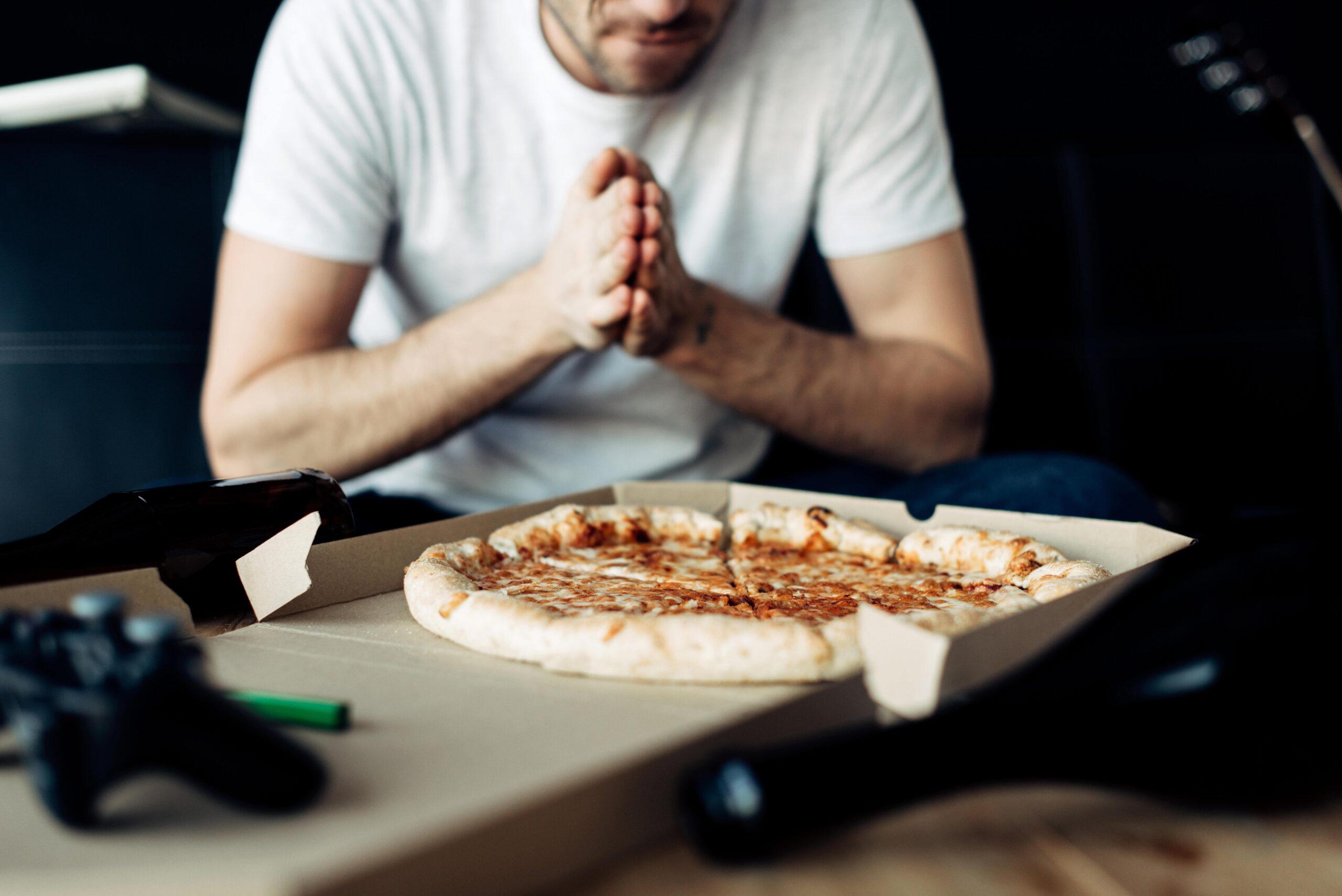Pizza hangover food