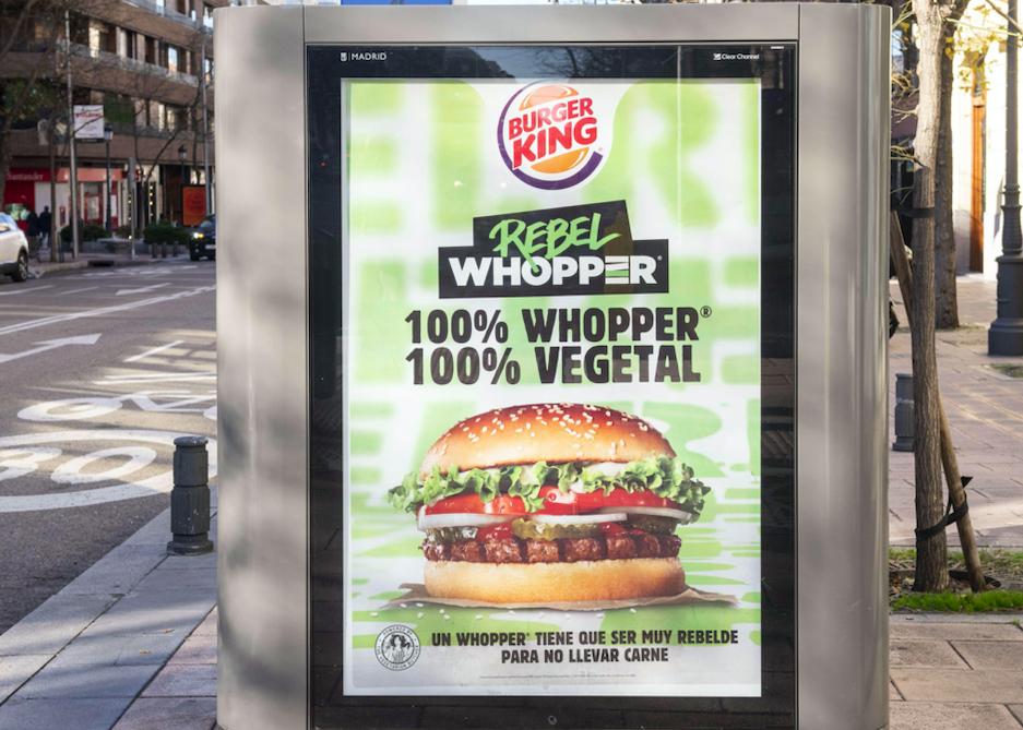 Rebel whopper vegan