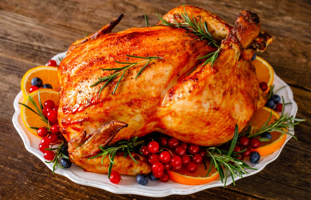 What food do people eat on Christmas day
