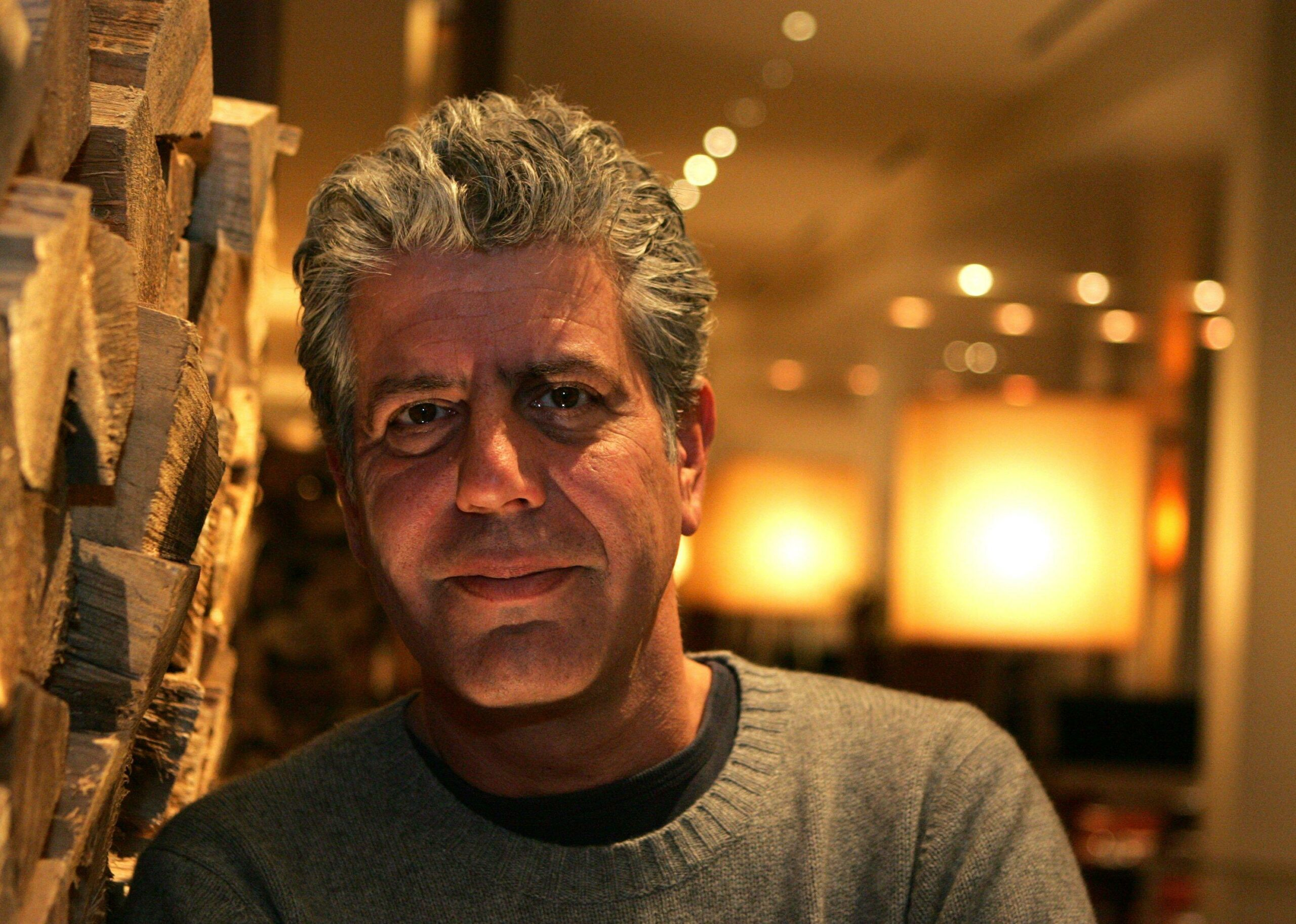 Anthony Bourdain no reservations