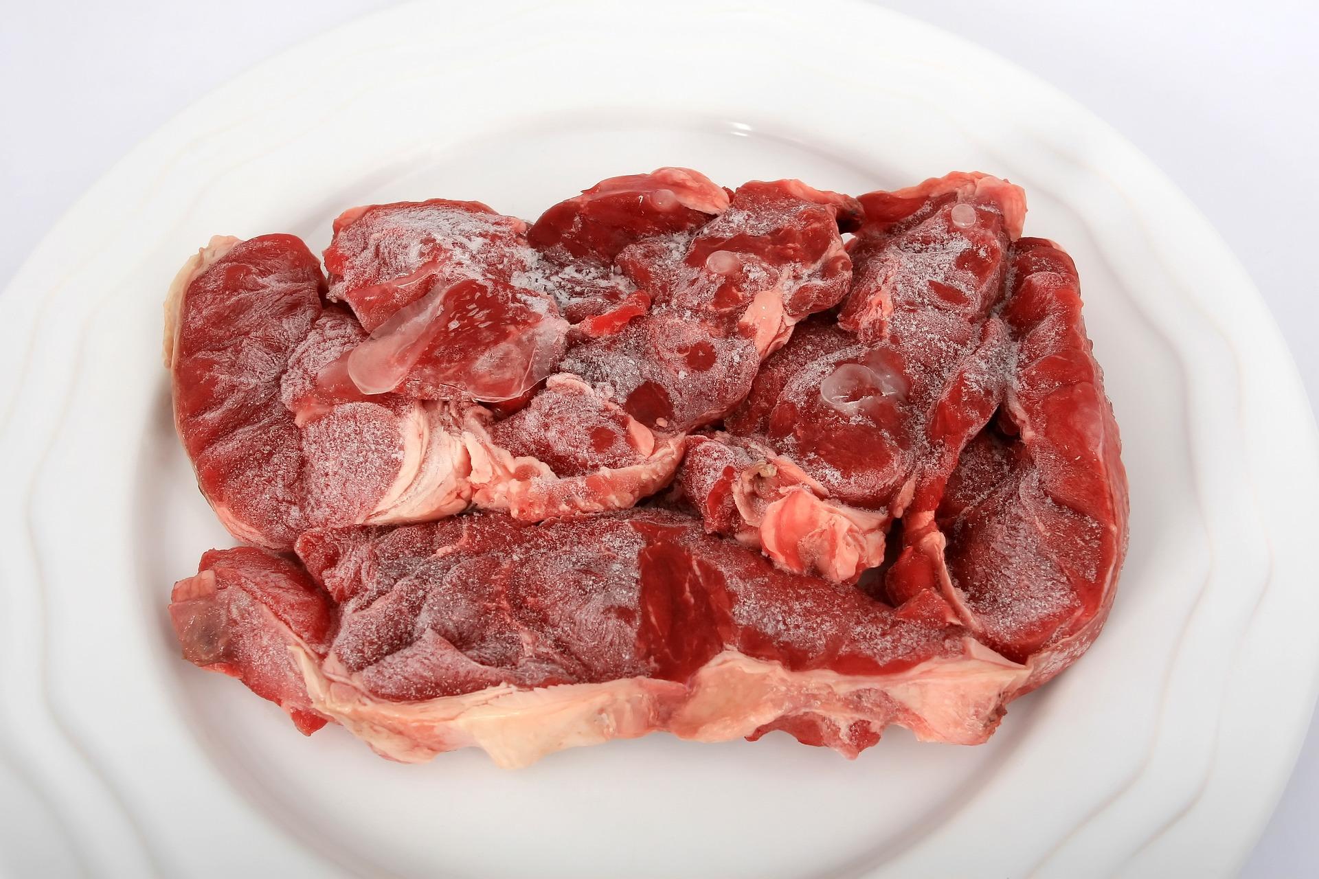 Frozen beef scandal