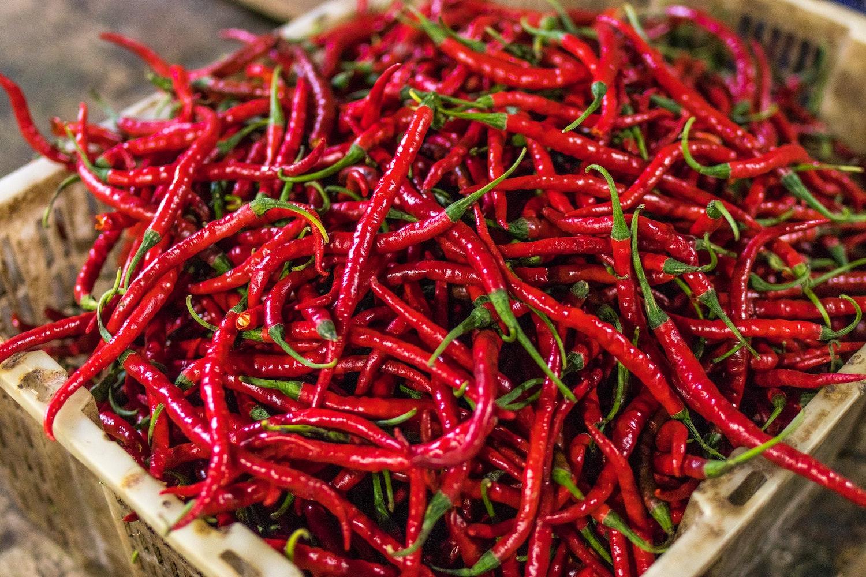 chilli spiciest food (Credit: Pexels)