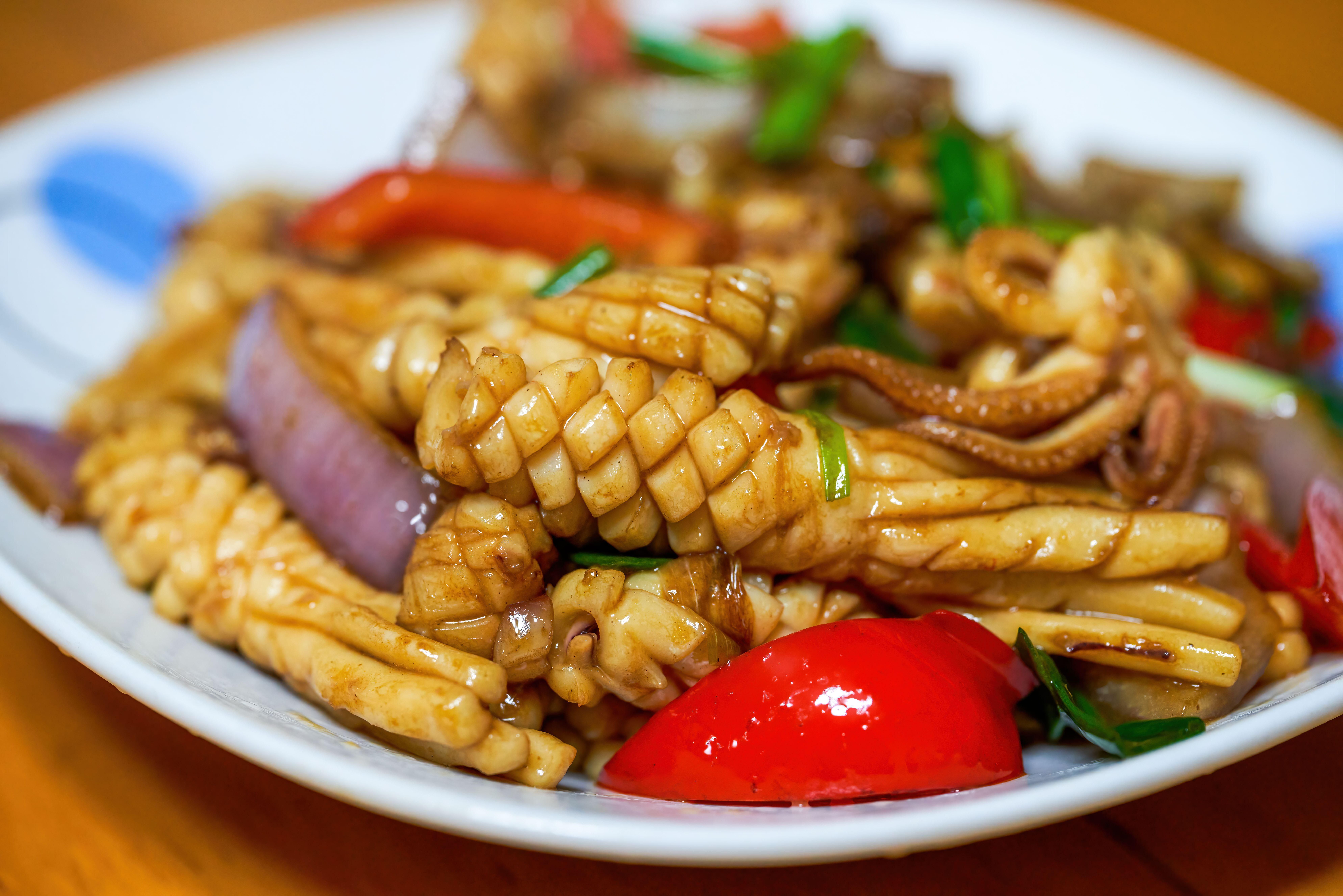 Chinese food texture