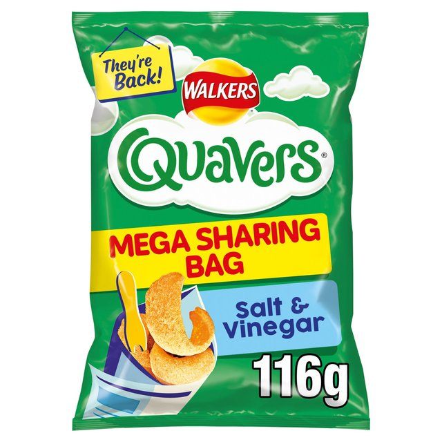 Salt and Vinegar Quavers (Credit: Walkers)