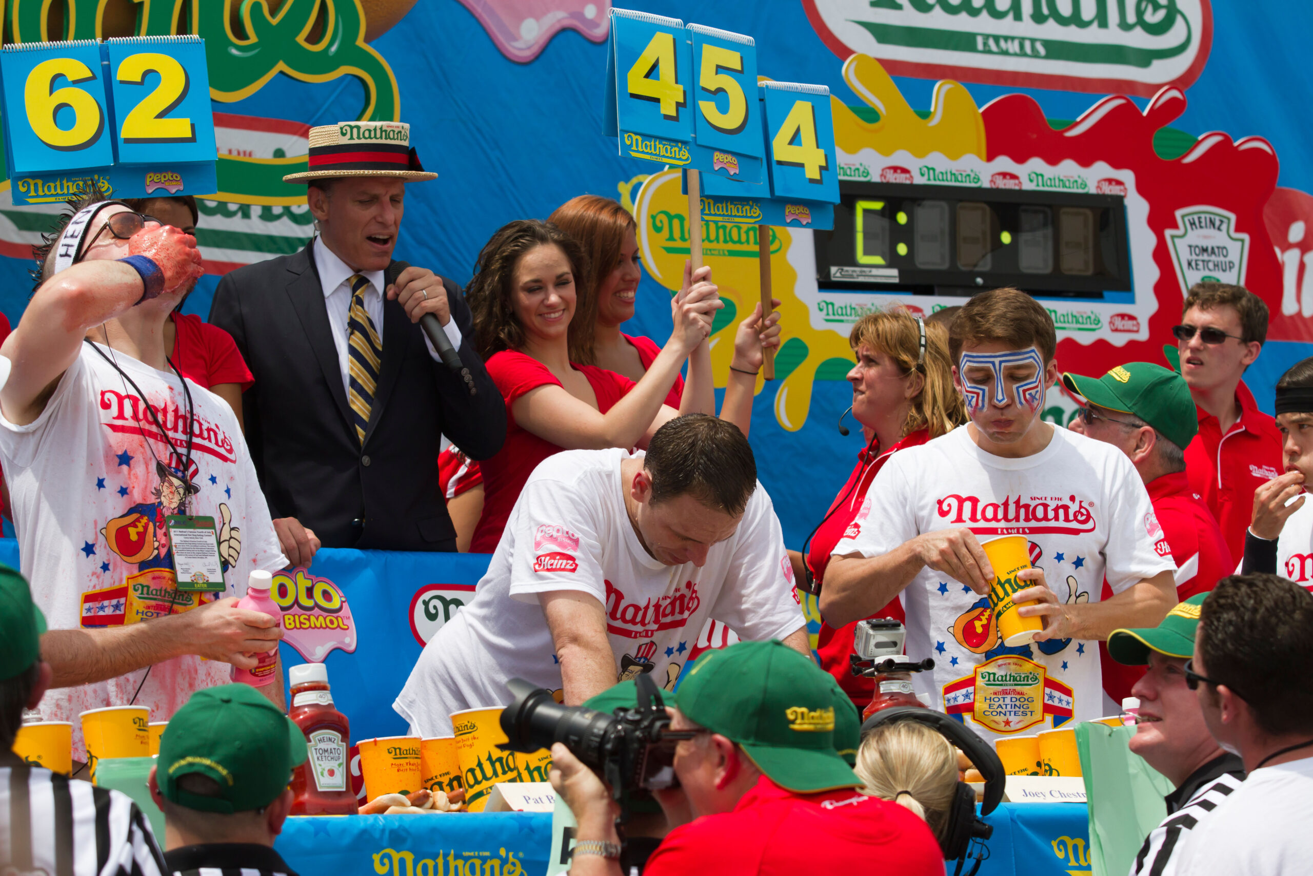 Who is the world's best competitive eater