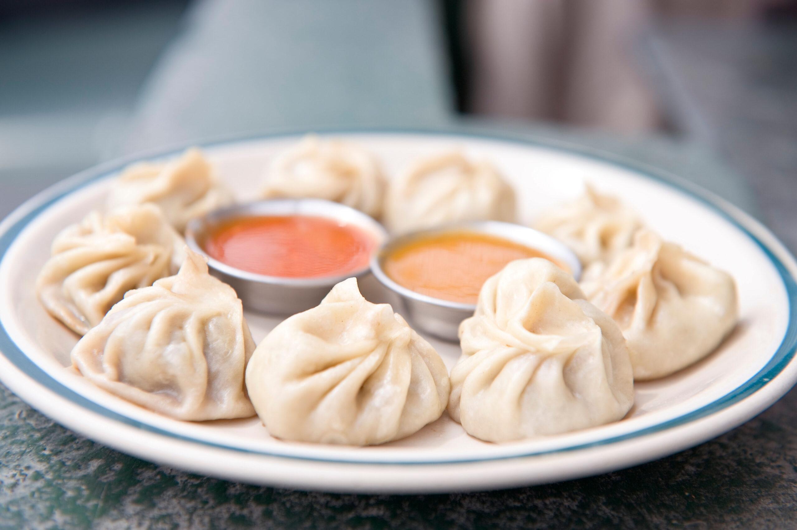 Momo dumplings