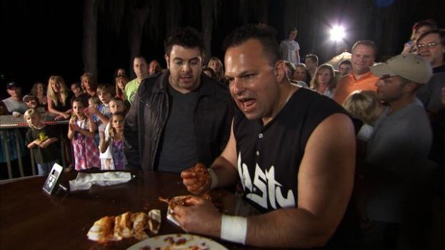 Greatest eating challenge Man v. Food