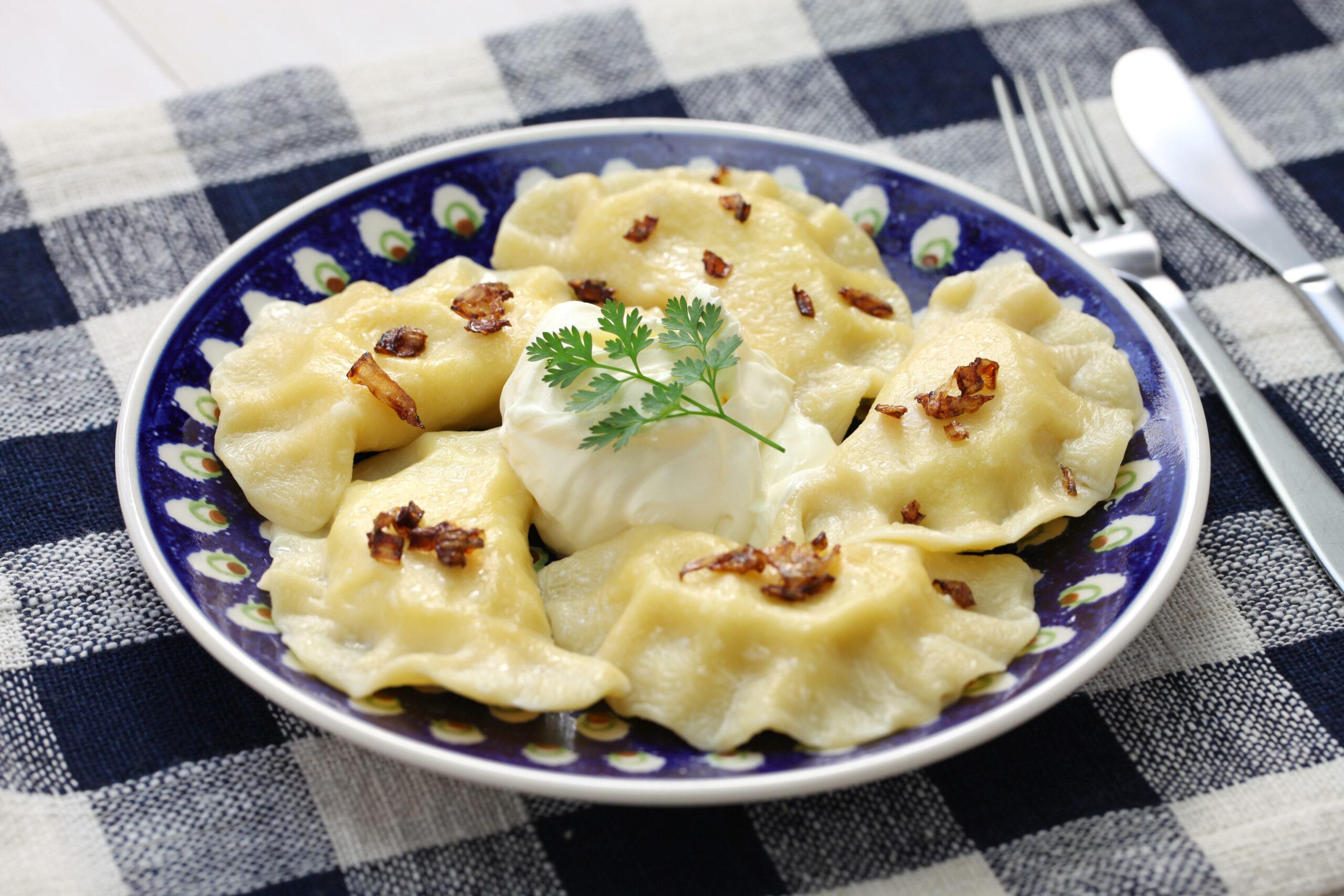Pierogi dumplings