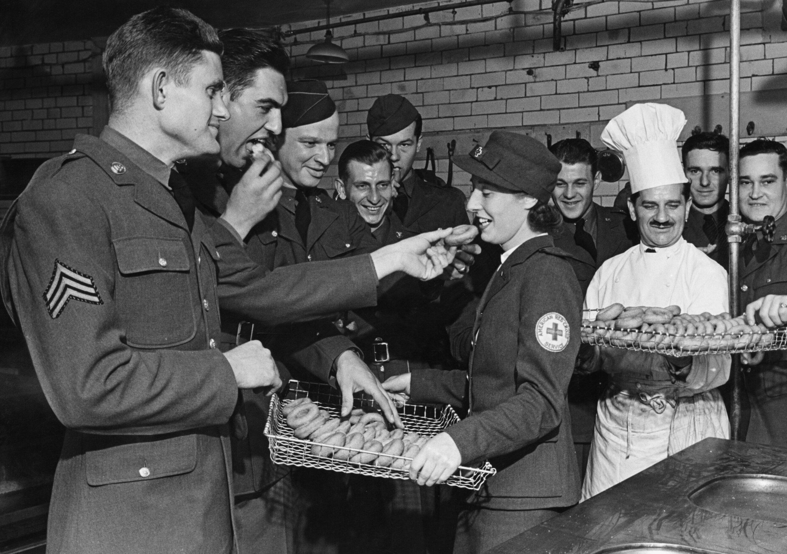 Doughnuts World War Two