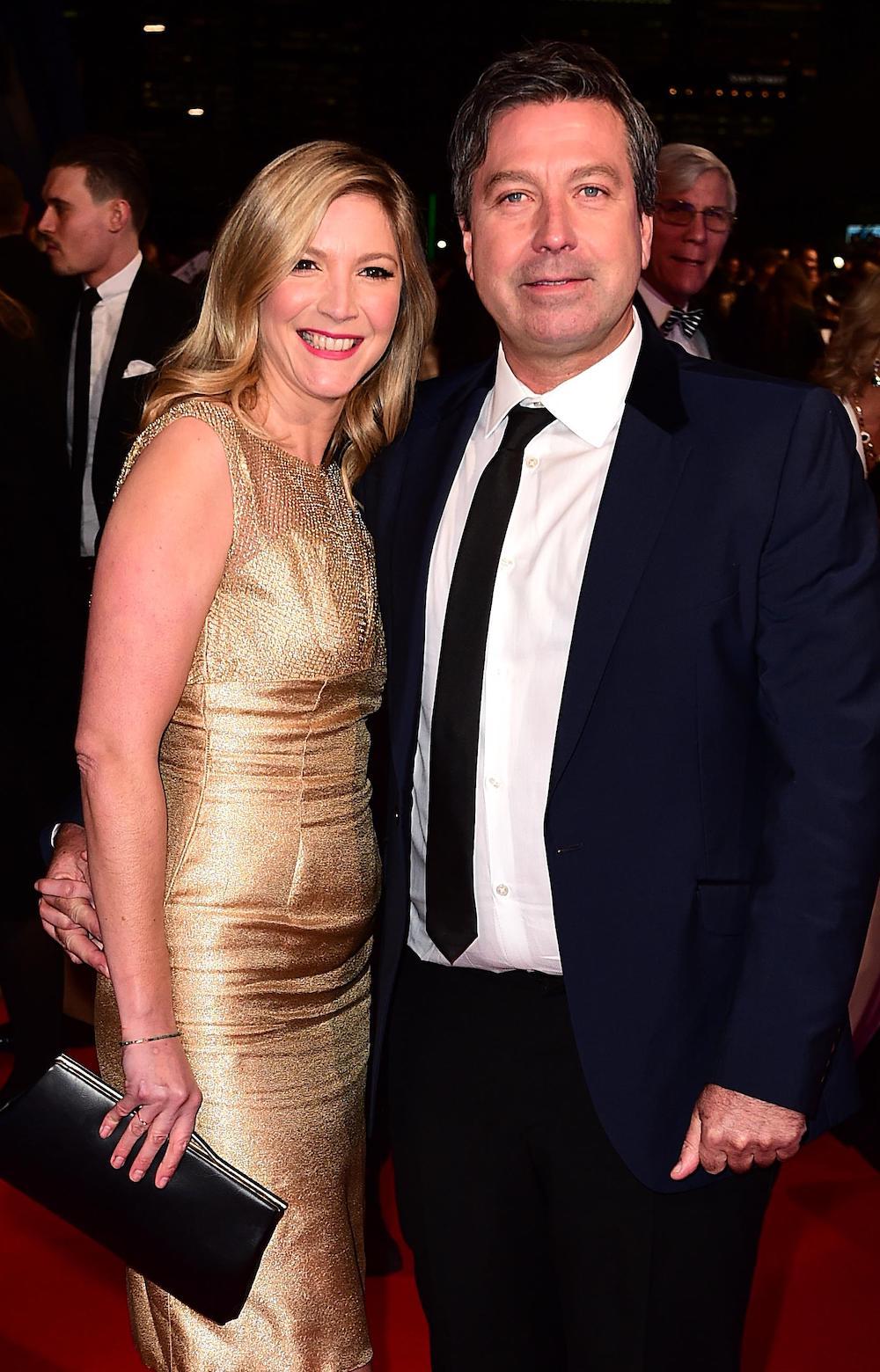 John Torode and Lisa Faulkner (Credit: Alamy)