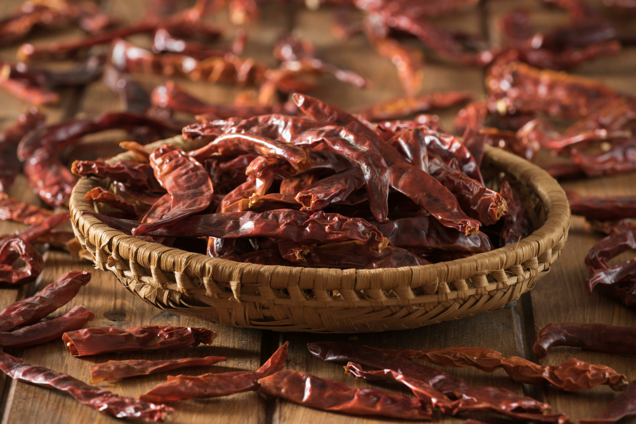 Dried chillies food make you hallucinate