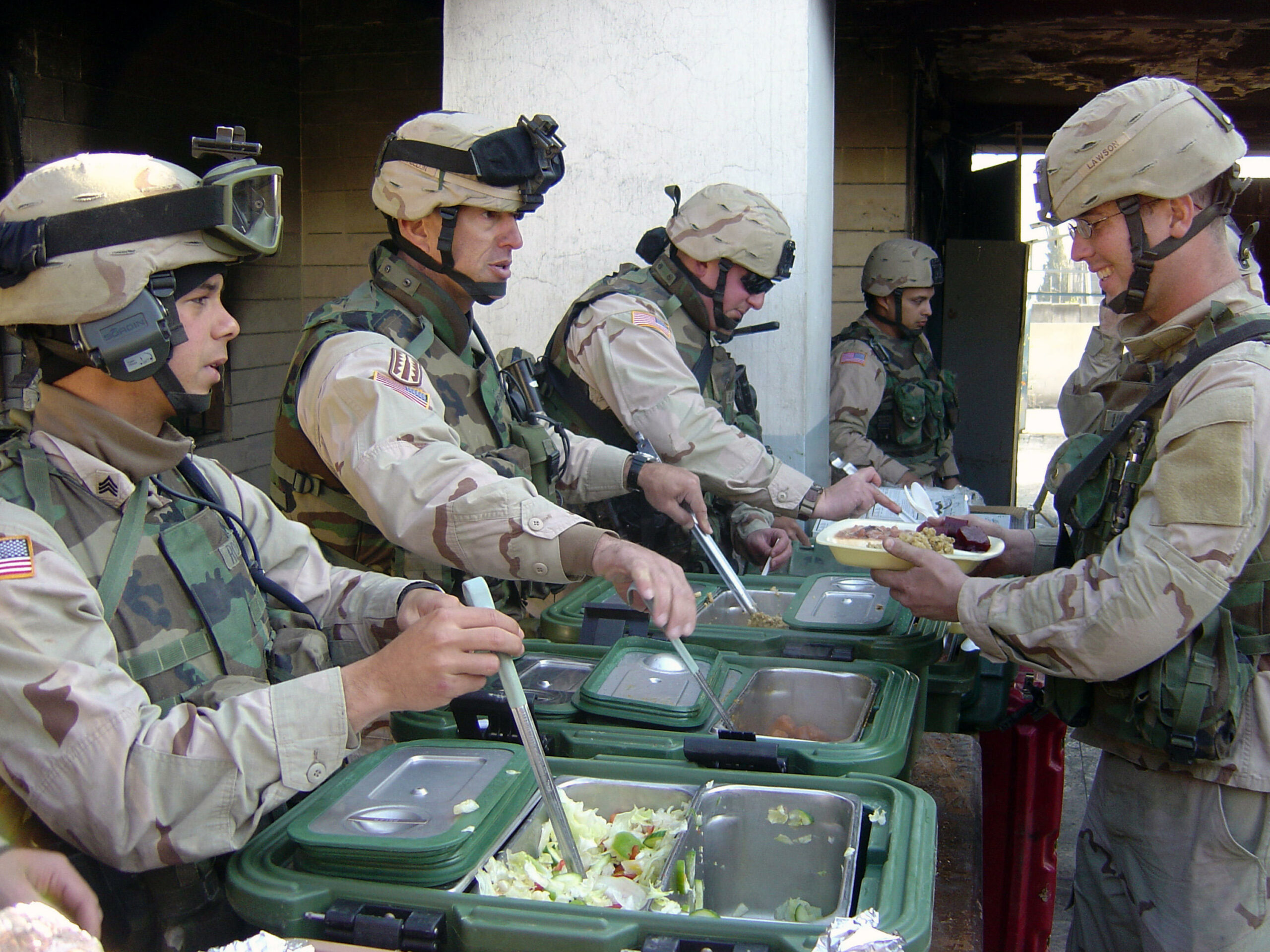 American army food