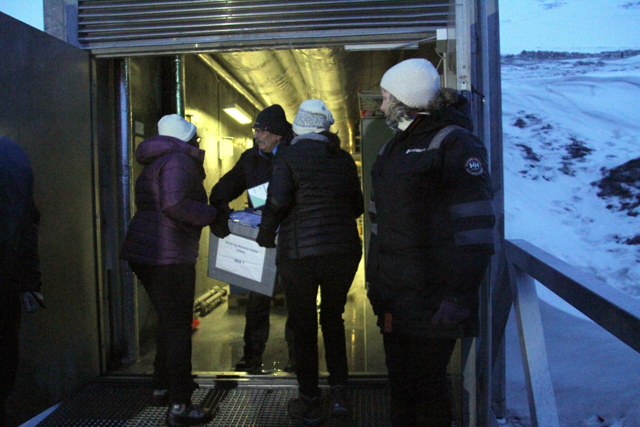 Svalbard vault