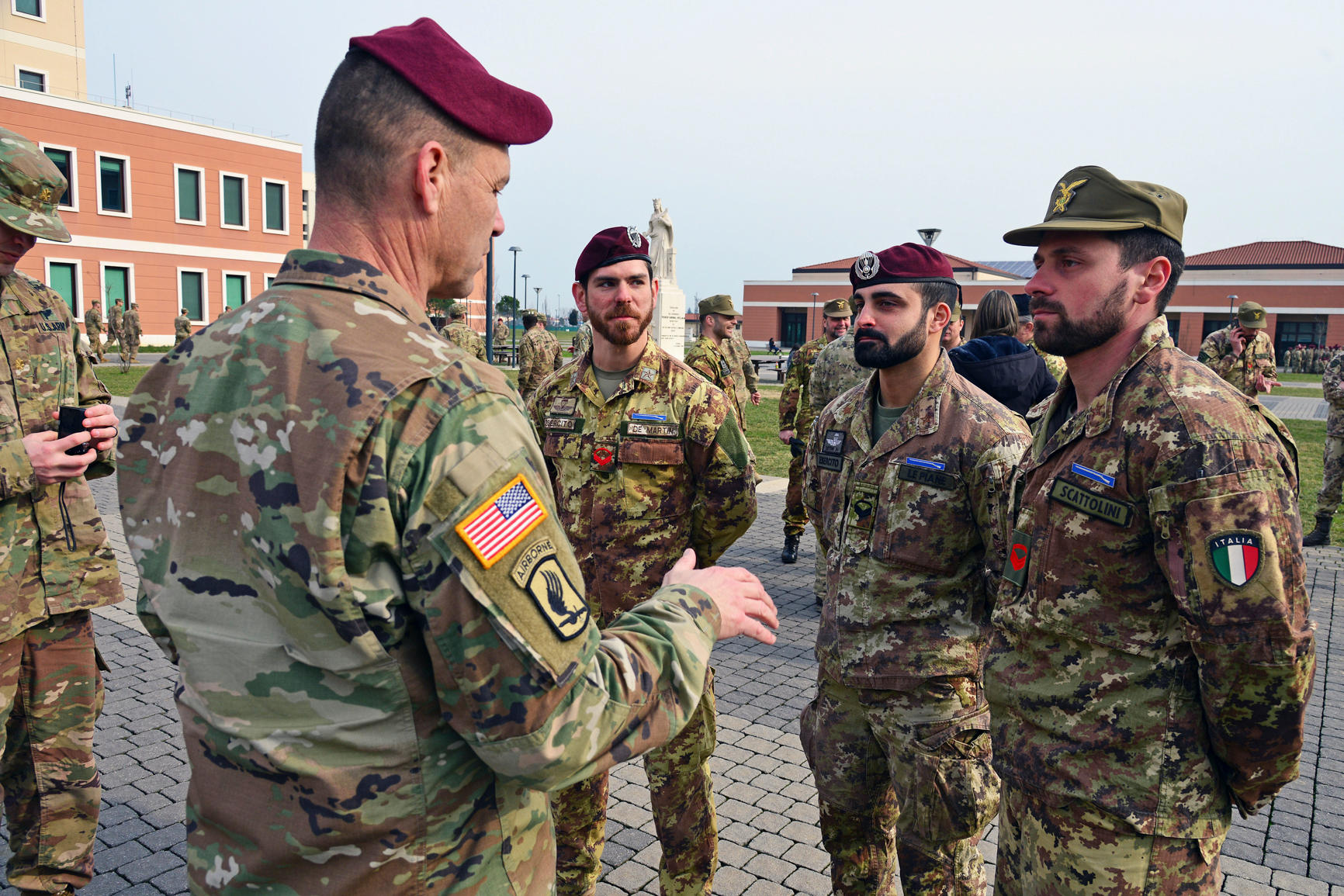 what do the army eat Italy