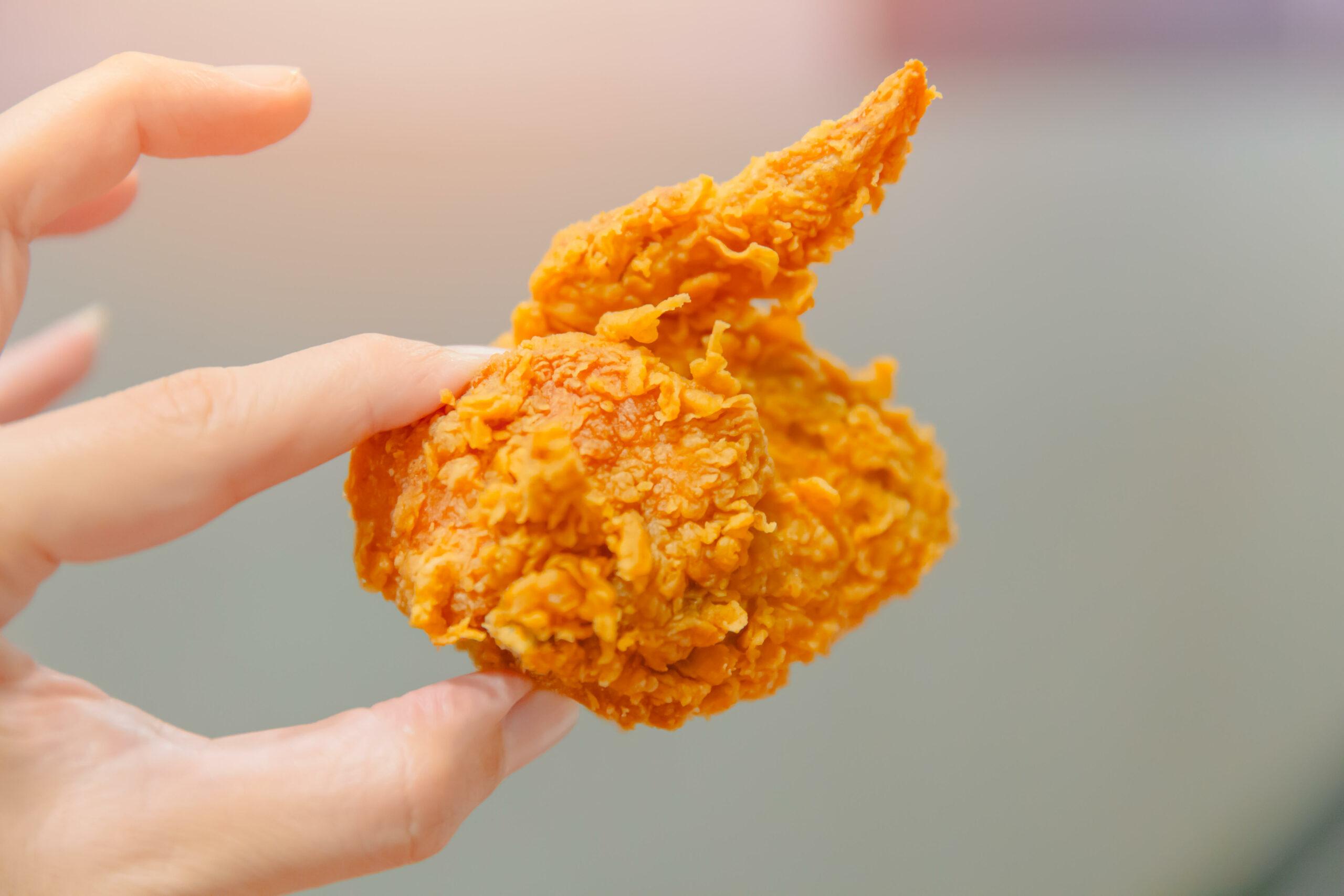 KFC weird chicken