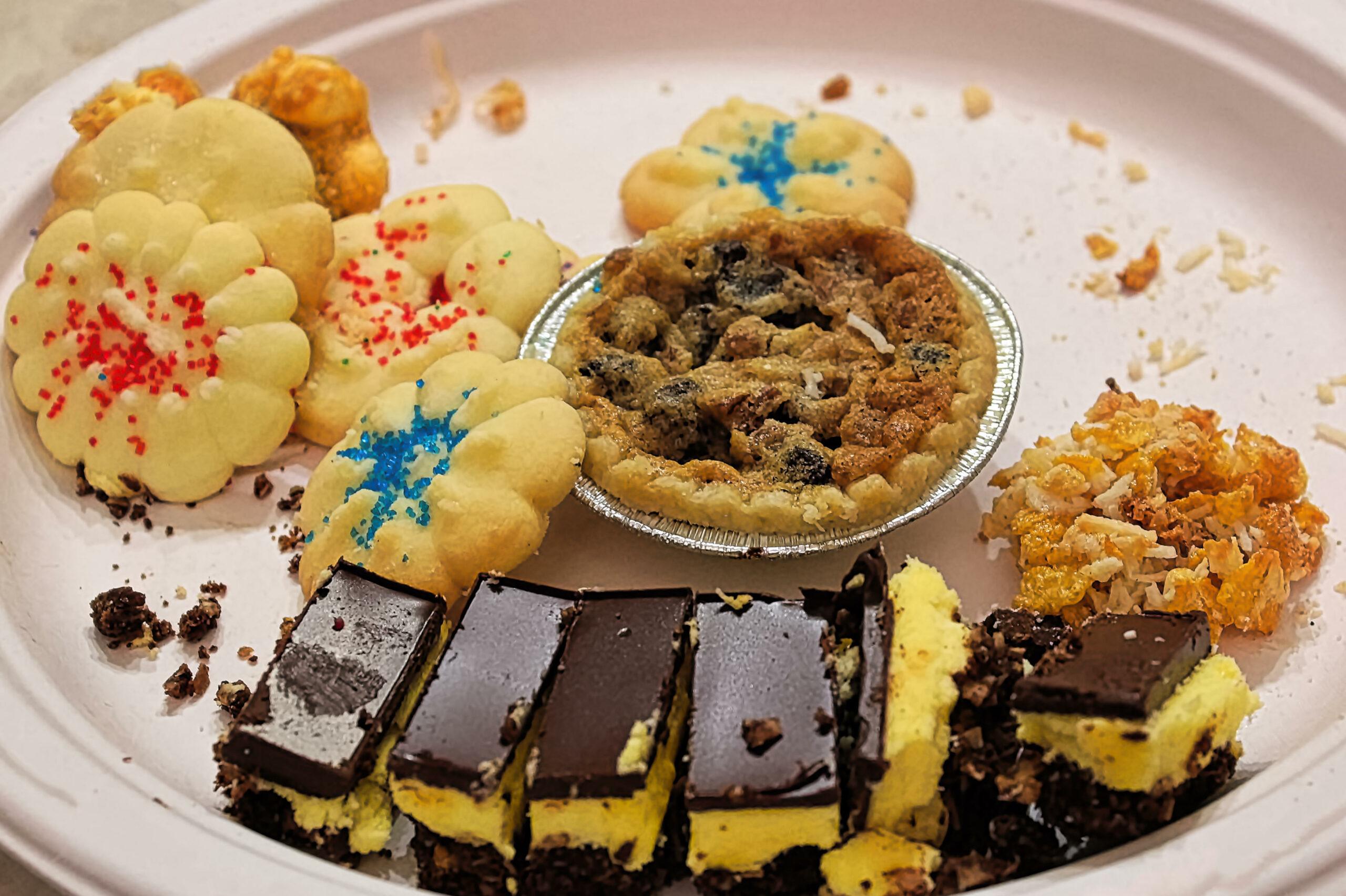 leftover christmas desserts